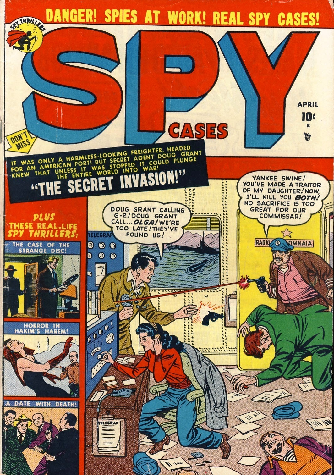Spy Cases 4 Page 1