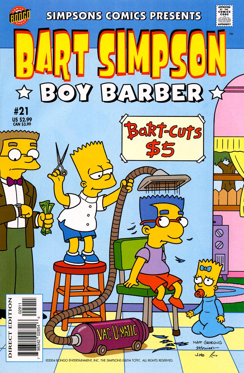 Read online Simpsons Comics Presents Bart Simpson comic -  Issue #21 - 1