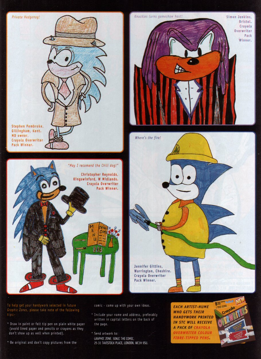 Read online Sonic the Comic comic -  Issue #68 - 24