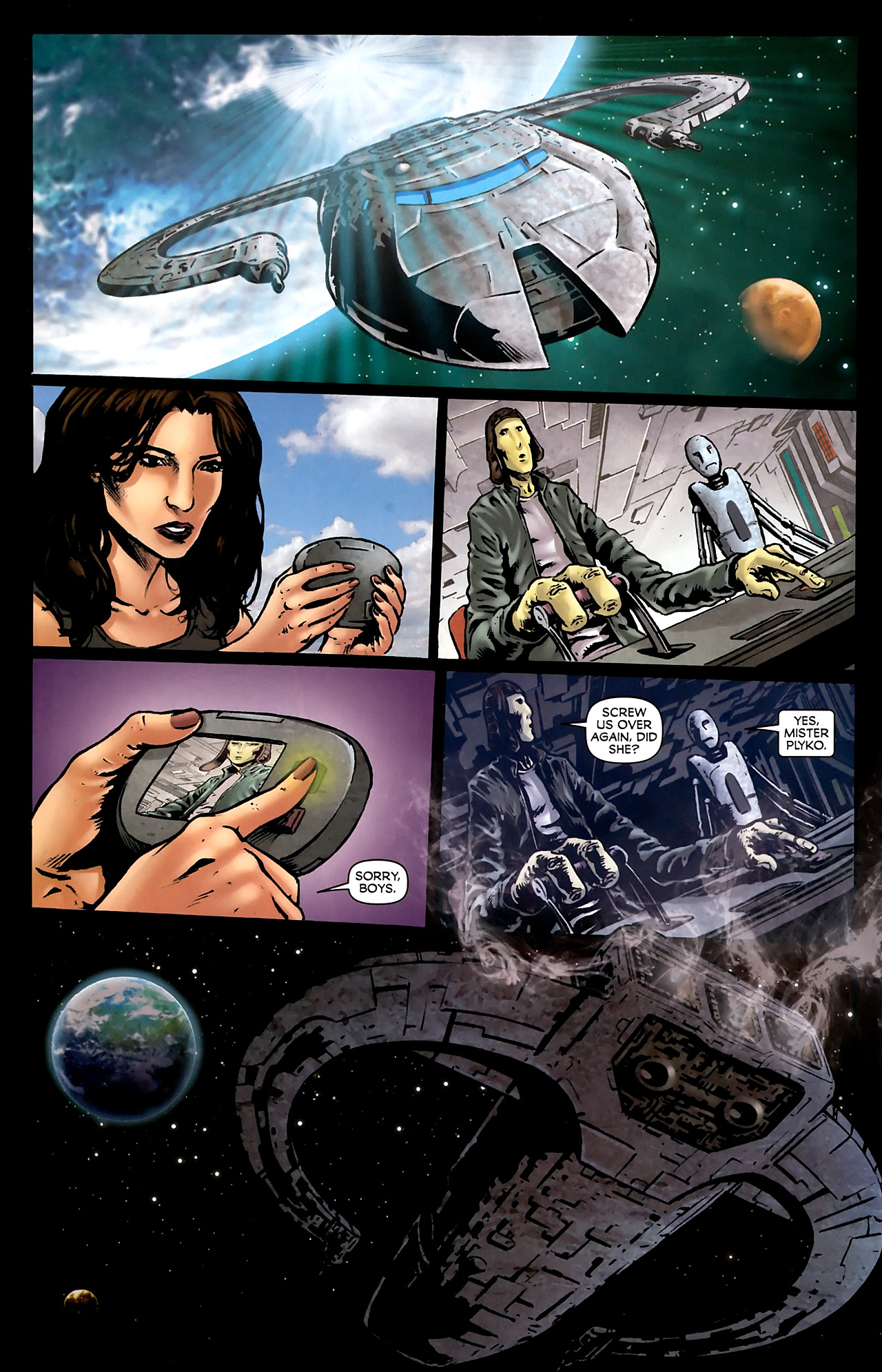 Read online Stargate Vala Mal Doran comic -  Issue #3 - 16
