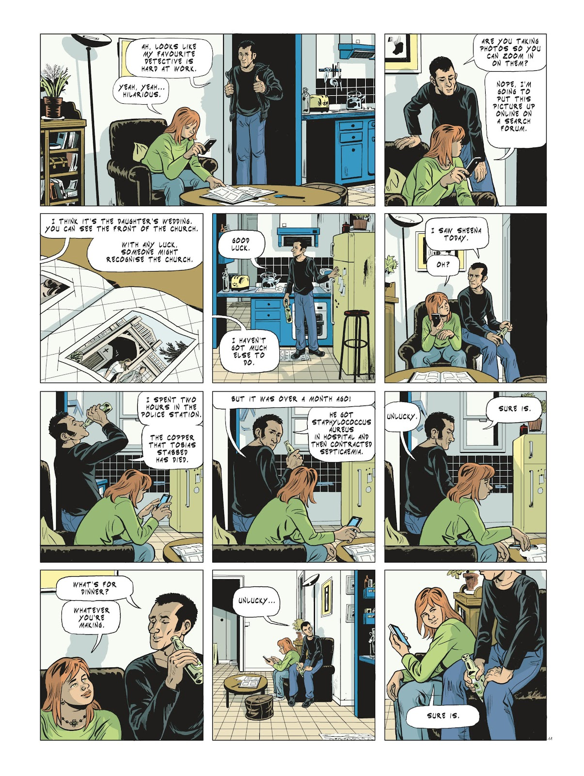 Read online Maggy Garrisson comic -  Issue #3 - 13