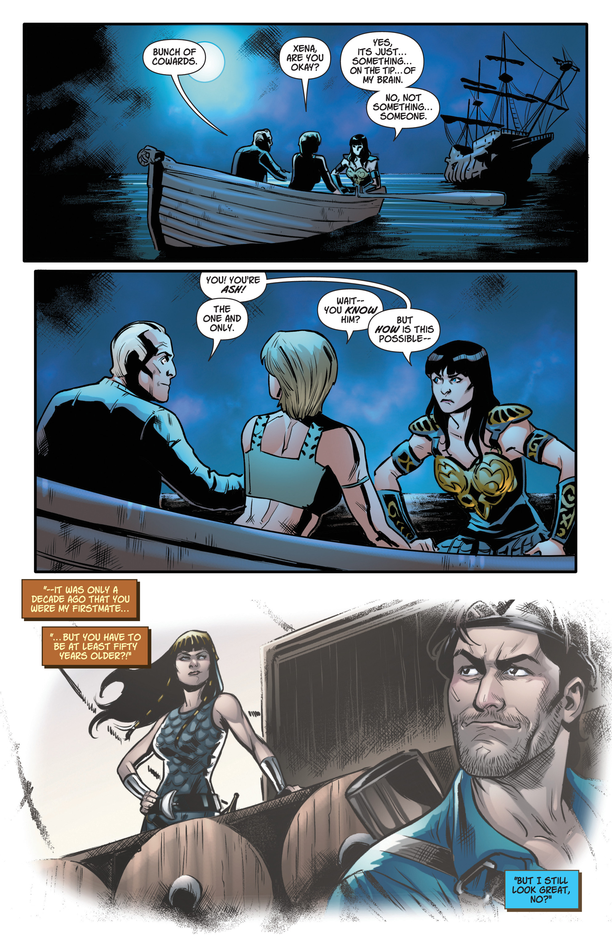 Read online Army Of Darkness/Xena: Forever…And A Day comic -  Issue #5 - 18