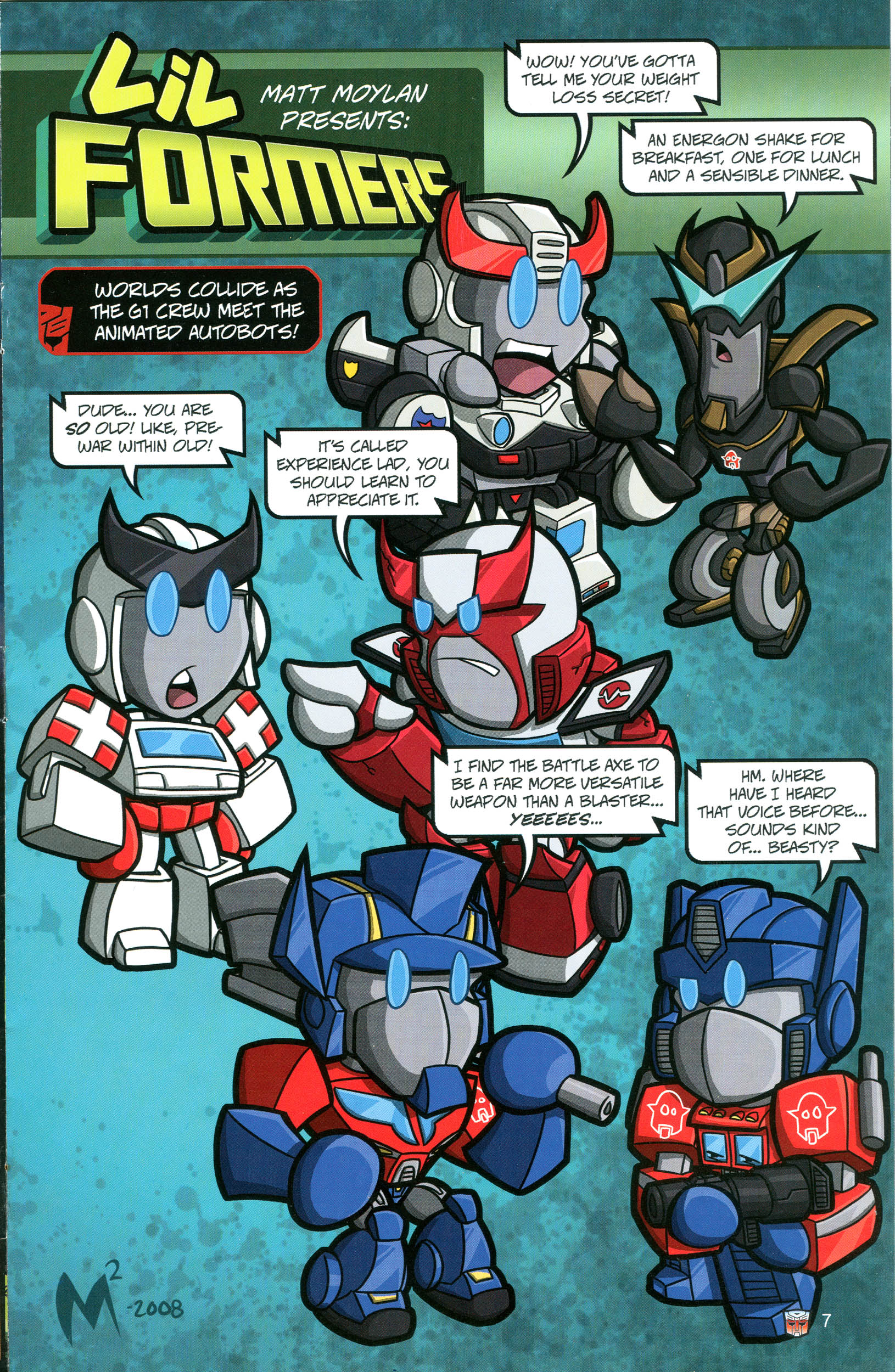 Read online Transformers: Collectors' Club comic -  Issue #20 - 7
