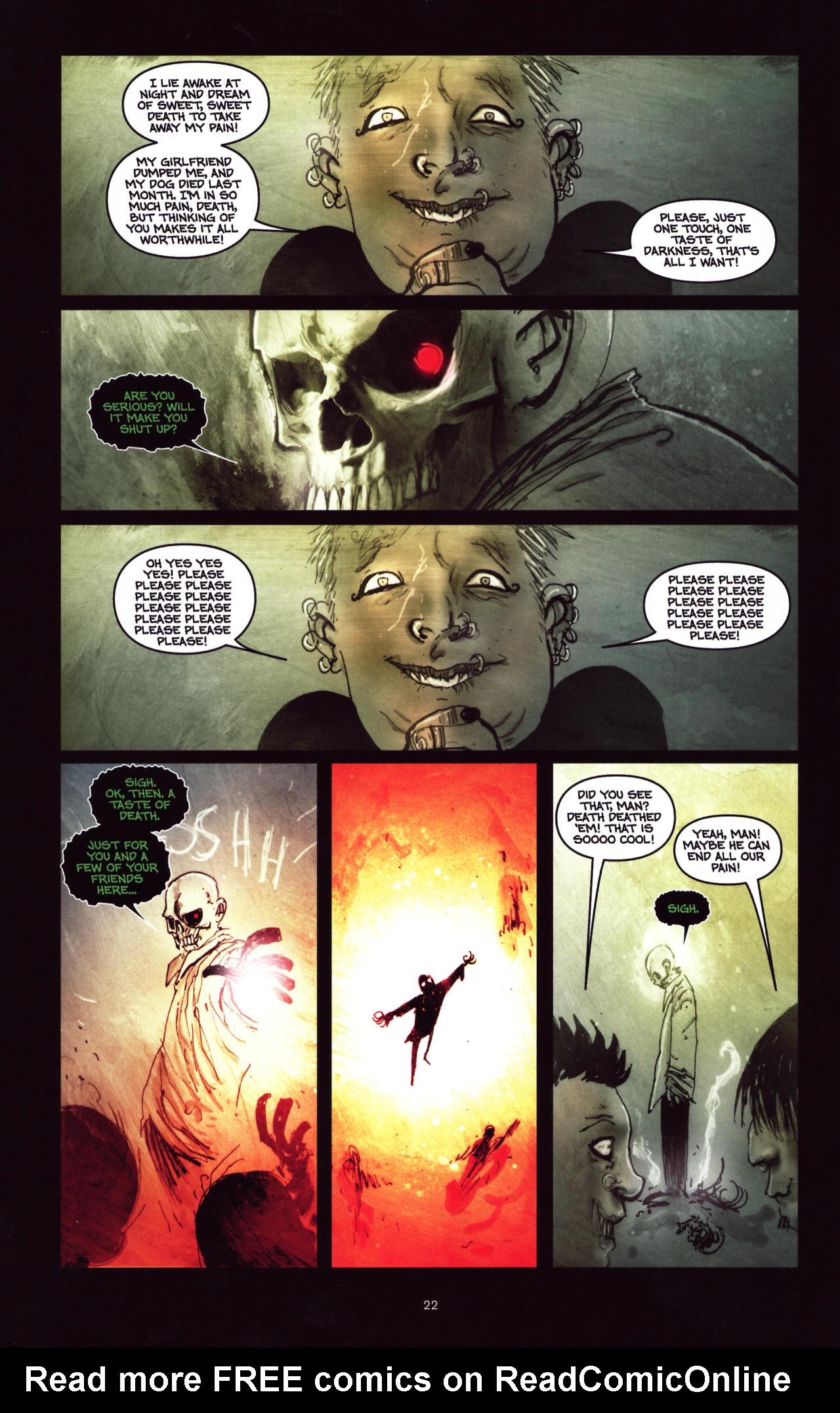 Read online Wormwood: Gentleman Corpse comic -  Issue #8 - 23