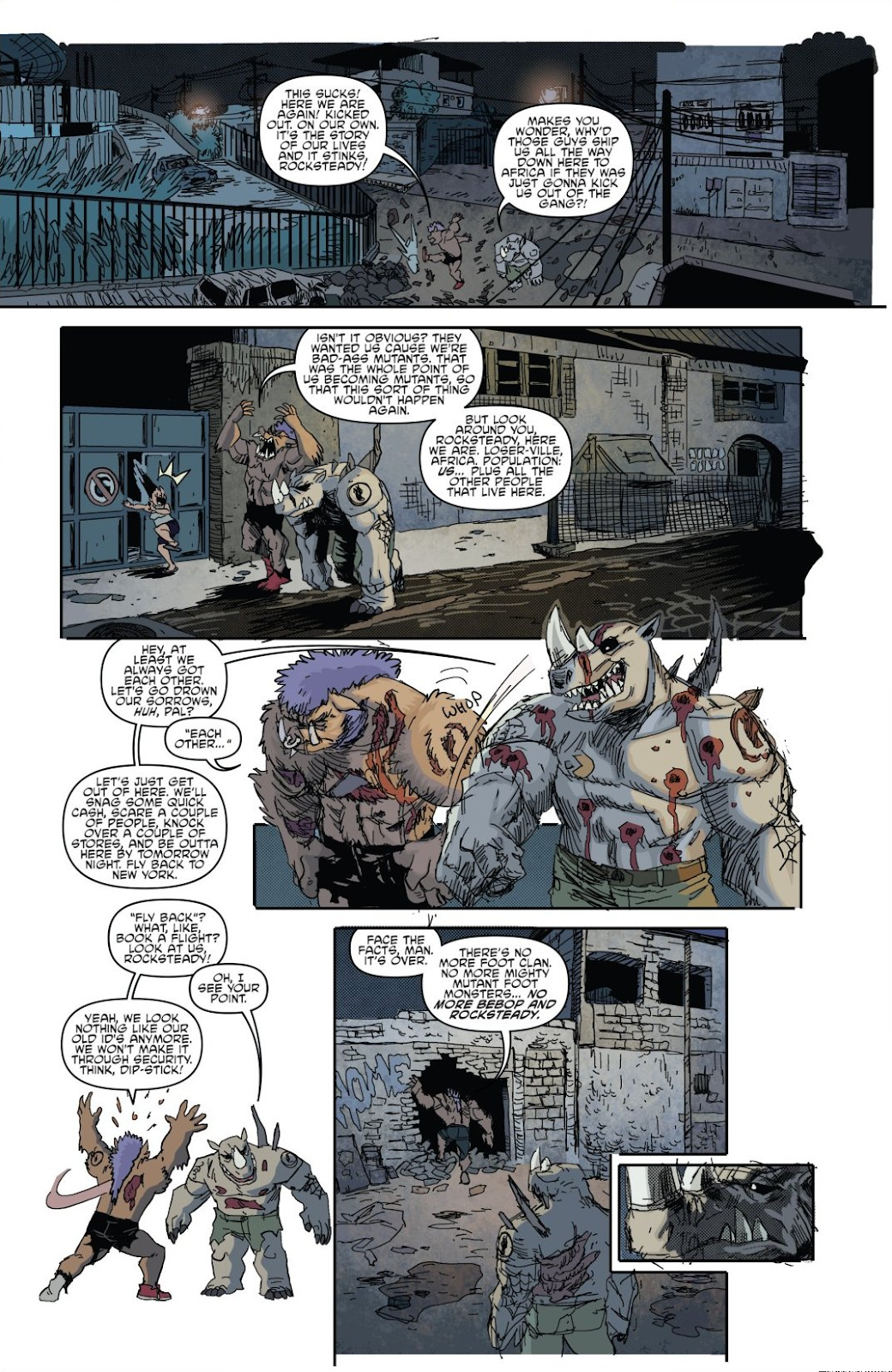 Read online Teenage Mutant Ninja Turtles: The IDW Collection comic -  Issue # TPB 8 (Part 1) - 16