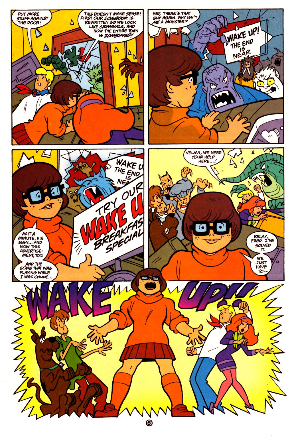 Read online Scooby-Doo (1997) comic -  Issue #21 - 21