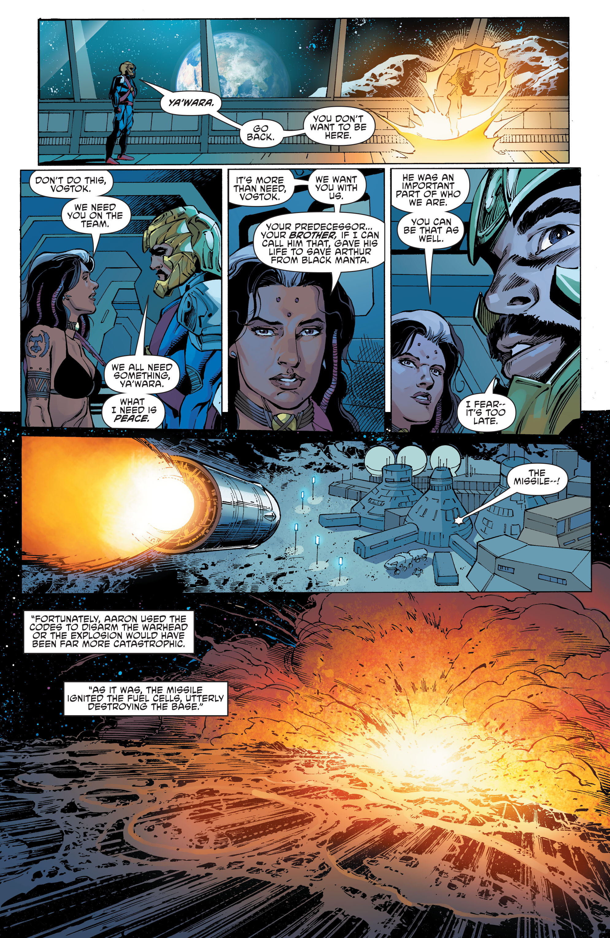 Read online Aquaman and the Others comic -  Issue #11 - 17