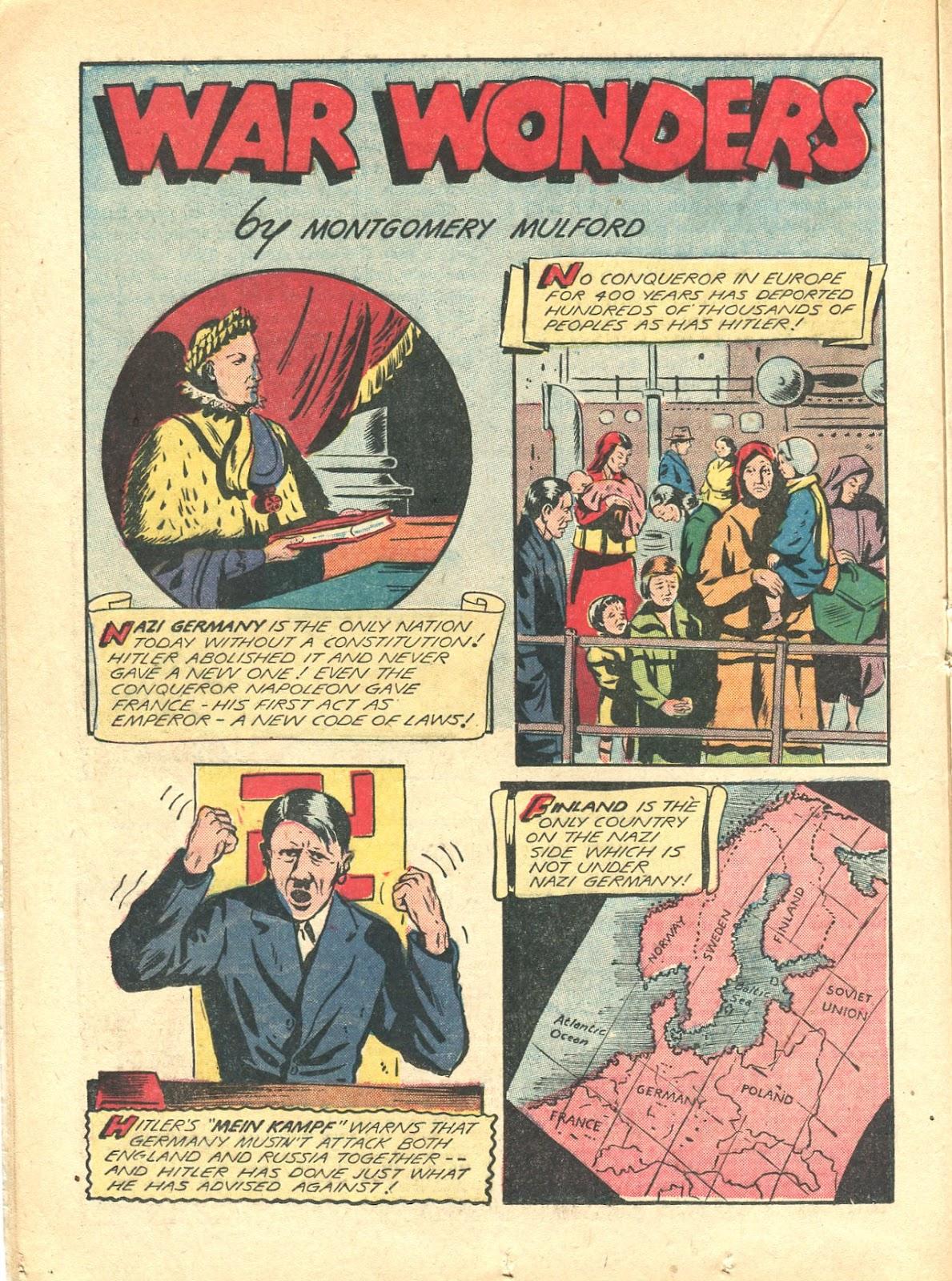 Read online Super-Magician Comics comic -  Issue #21 - 30