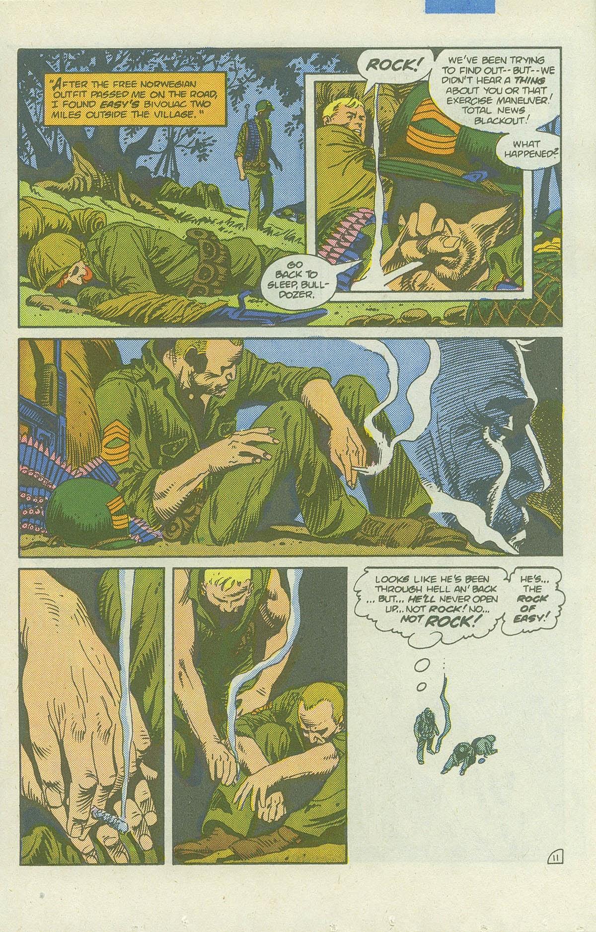 Read online Sgt. Rock comic -  Issue #422 - 16