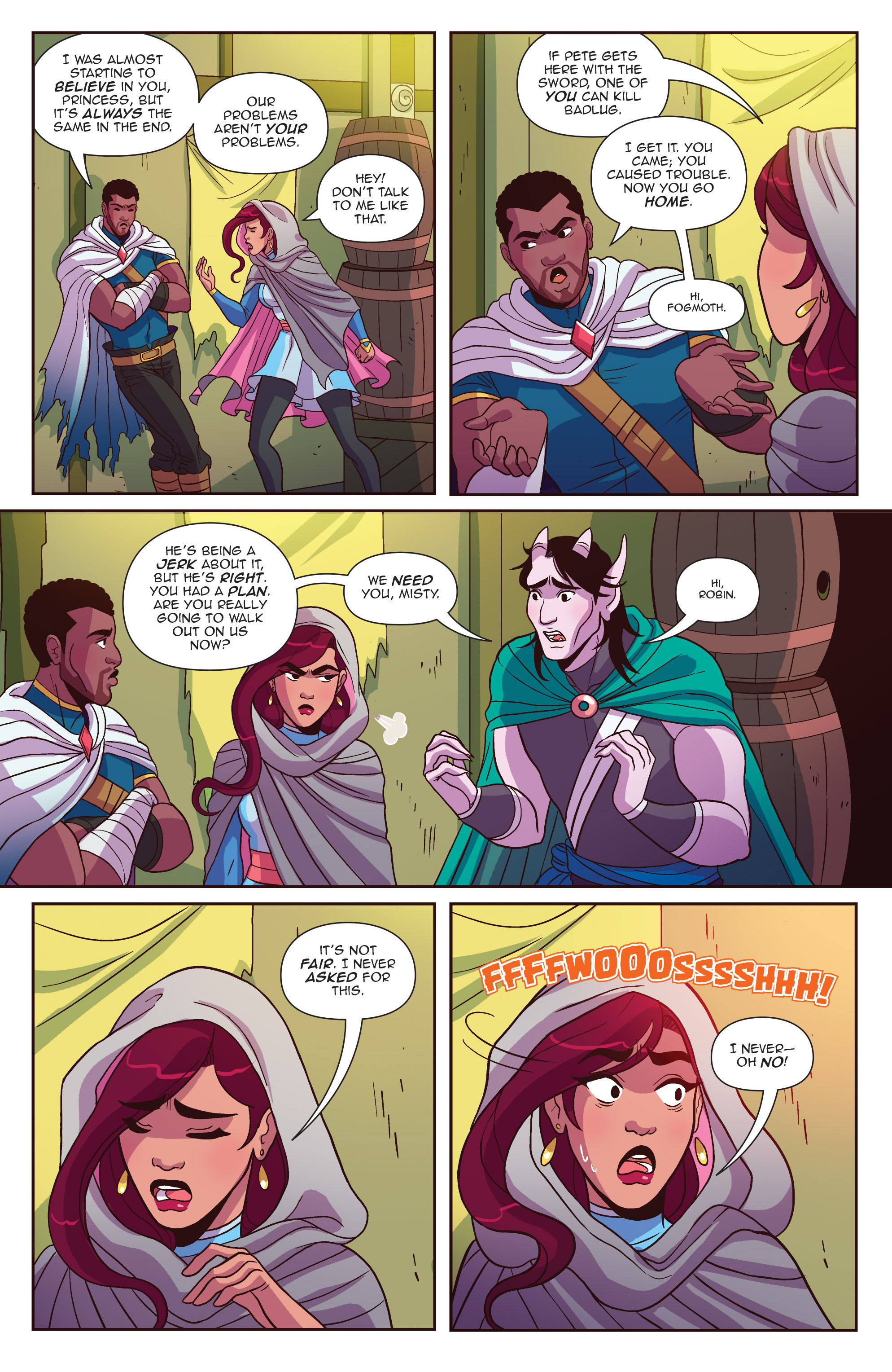 Read online Another Castle comic -  Issue #4 - 19
