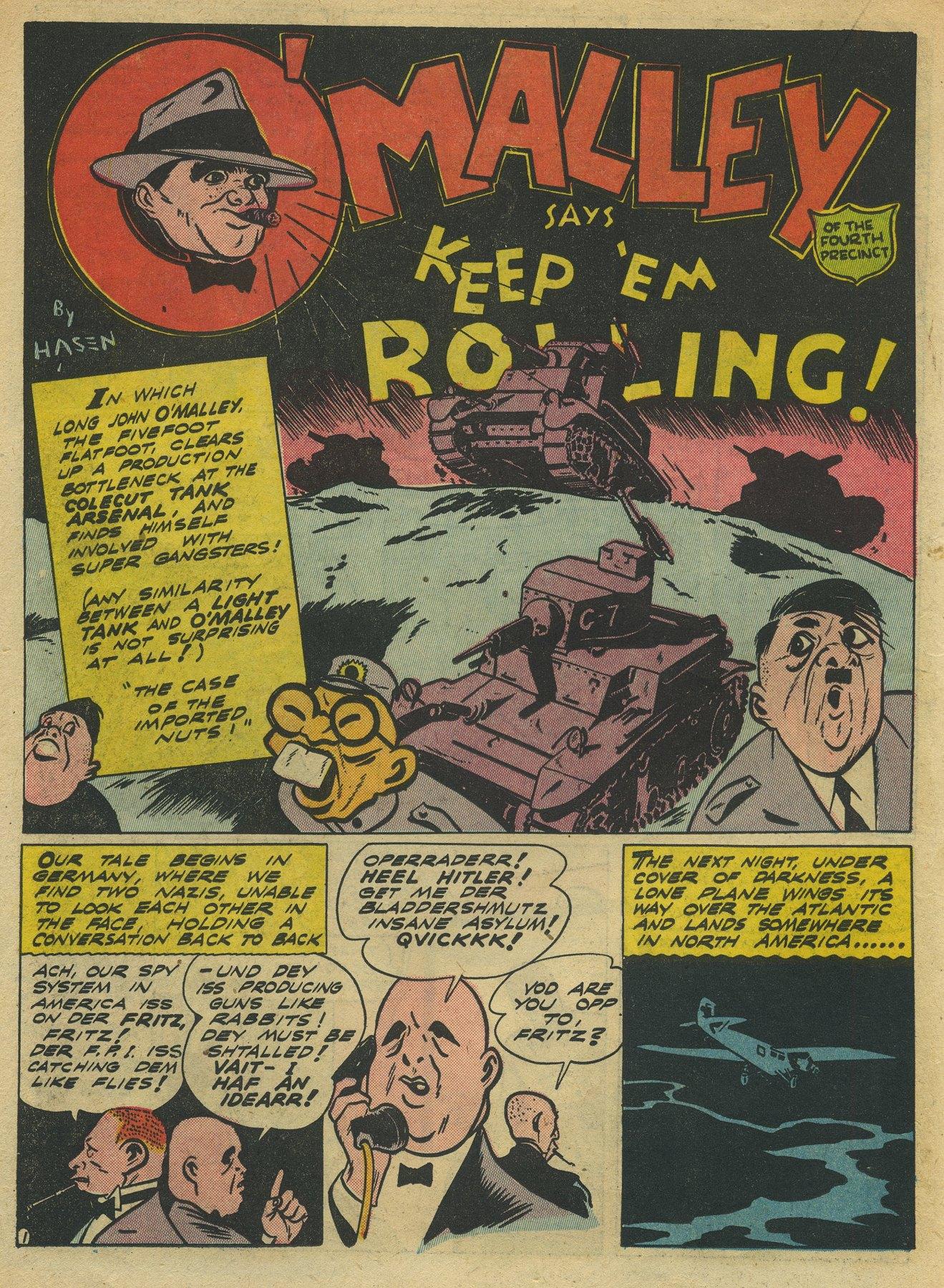 Read online Sensation (Mystery) Comics comic -  Issue #10 - 32