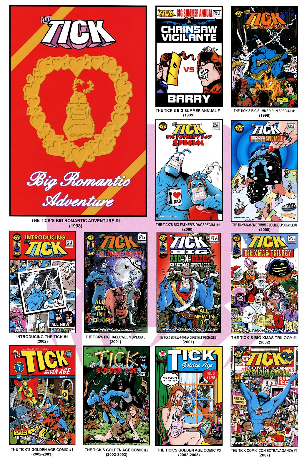 Read online The Tick comic -  Issue #101 - 34