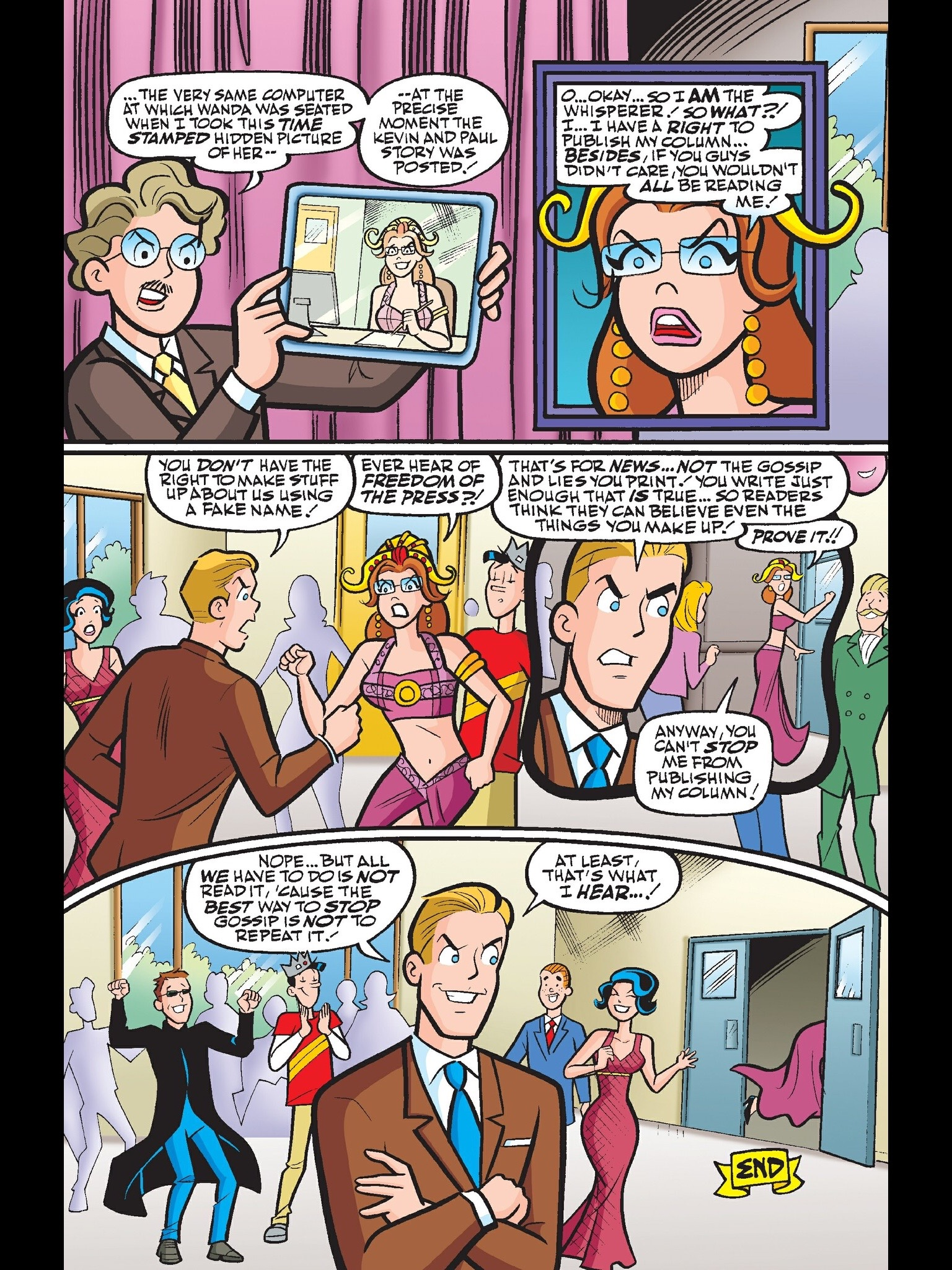 Read online Kevin Keller comic -  Issue #13 - 23