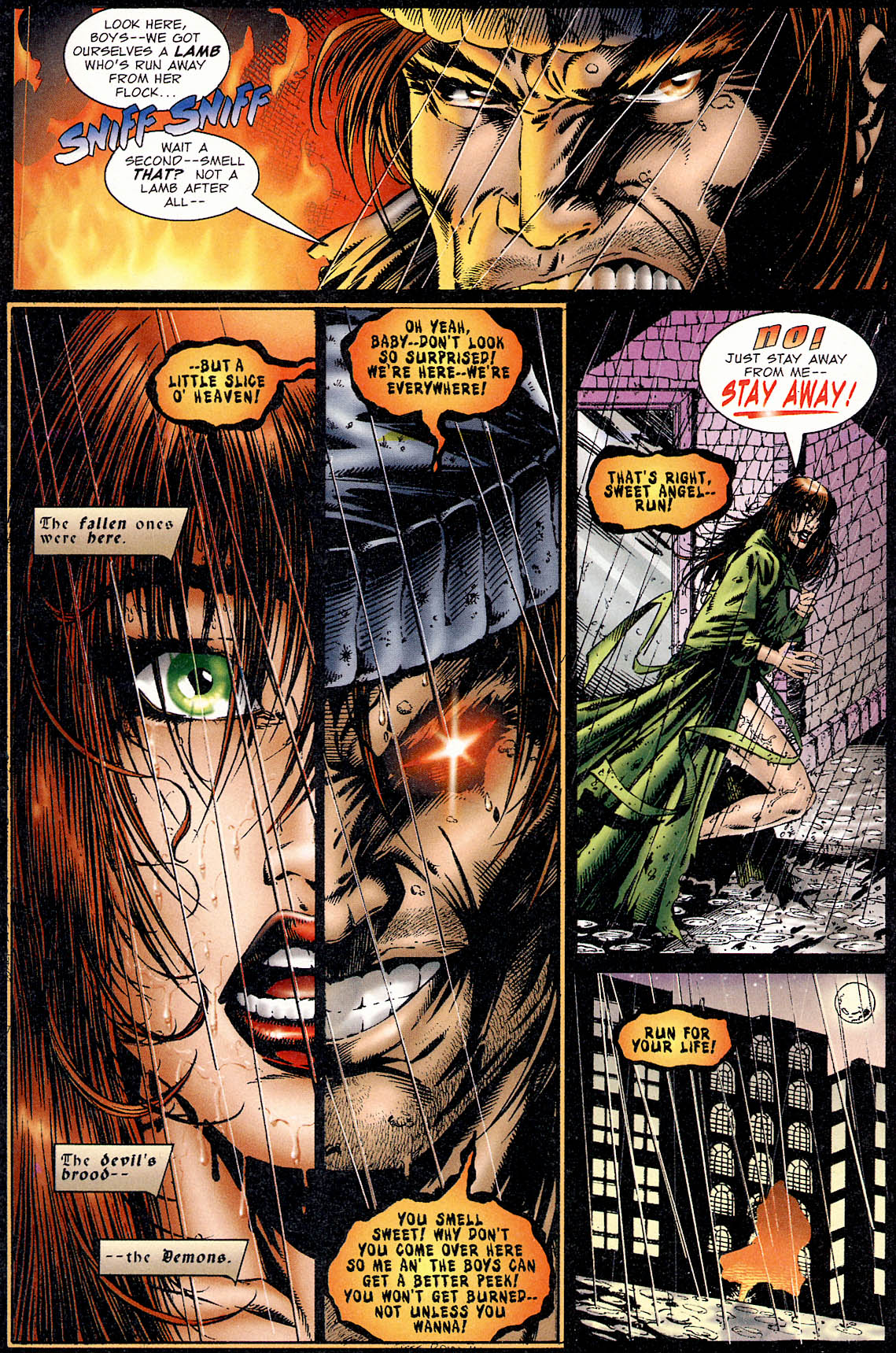 Read online Avengelyne (1995) comic -  Issue #1 - 4