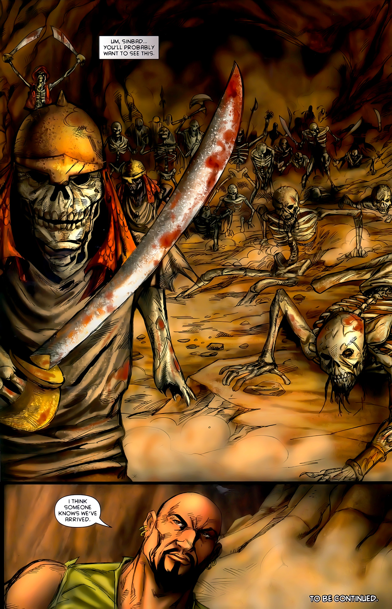 Read online 1001 Arabian Nights: The Adventures of Sinbad comic -  Issue #10 - 24