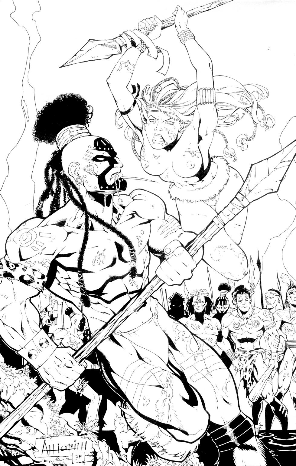Read online Jungle Fantasy (2002) comic -  Issue #4 - 29
