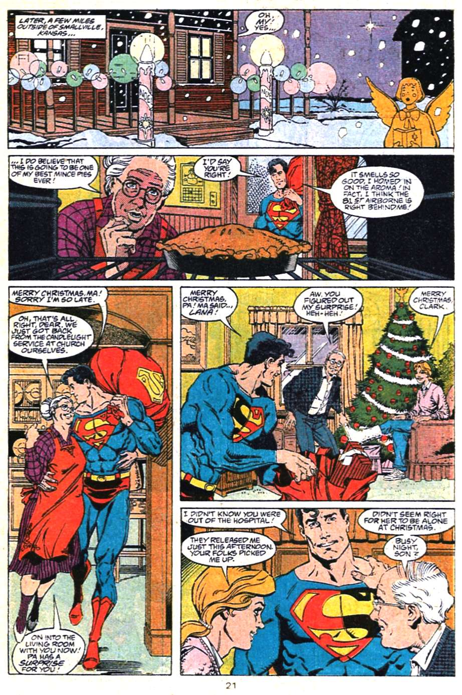 Read online Adventures of Superman (1987) comic -  Issue #462 - 22