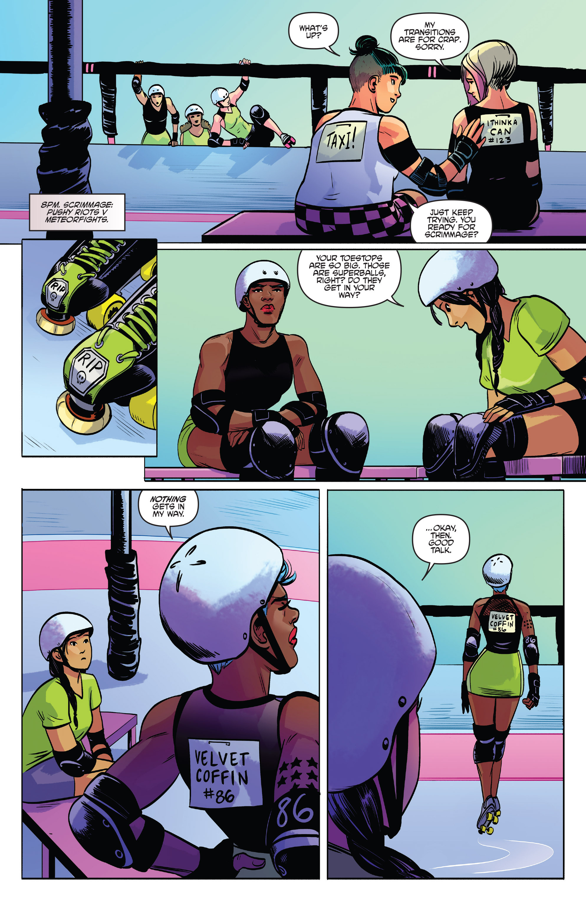 Read online Slam! comic -  Issue #2 - 10