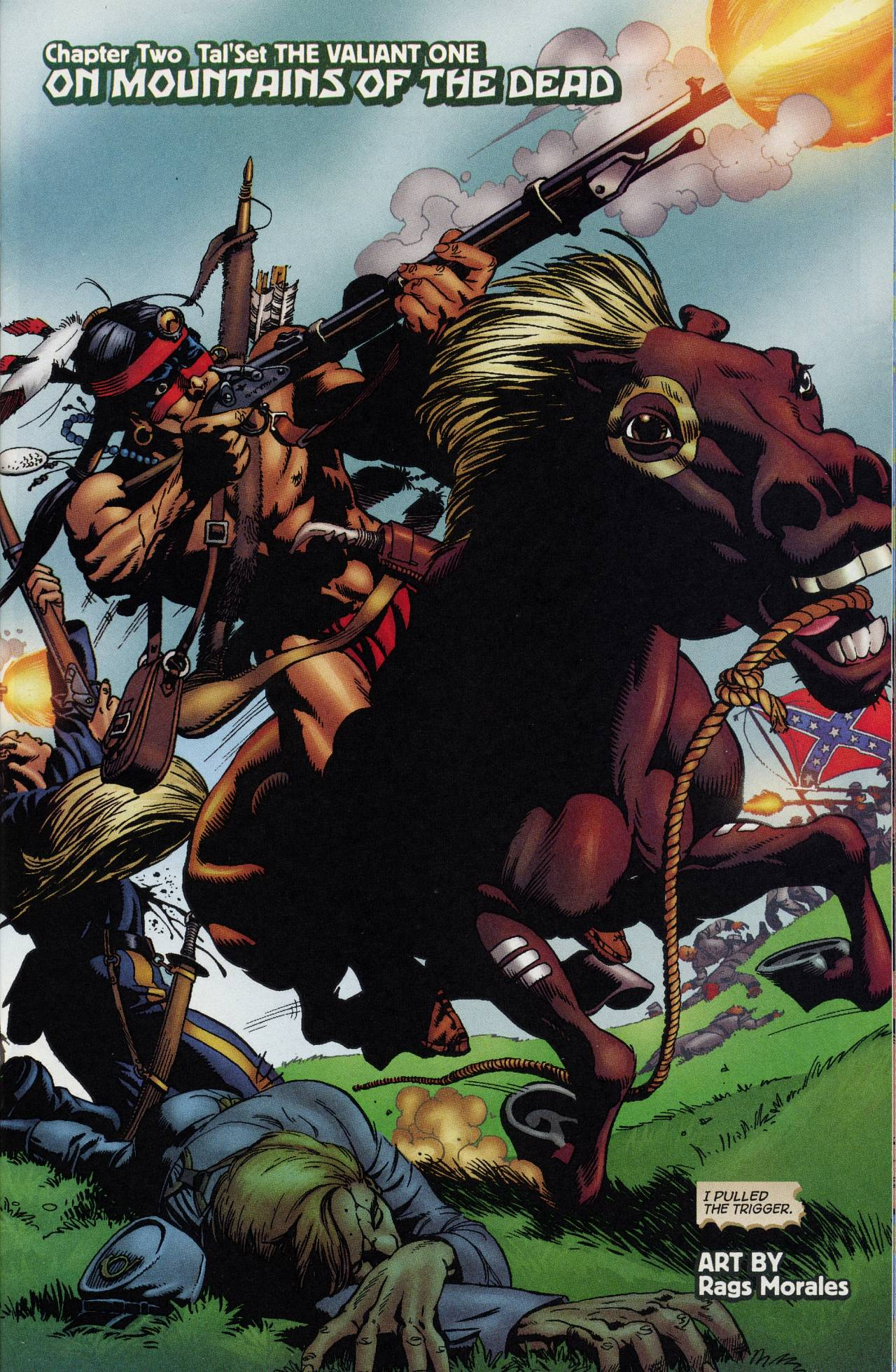 Read online Turok: Tales of the Lost Land comic -  Issue # Full - 13