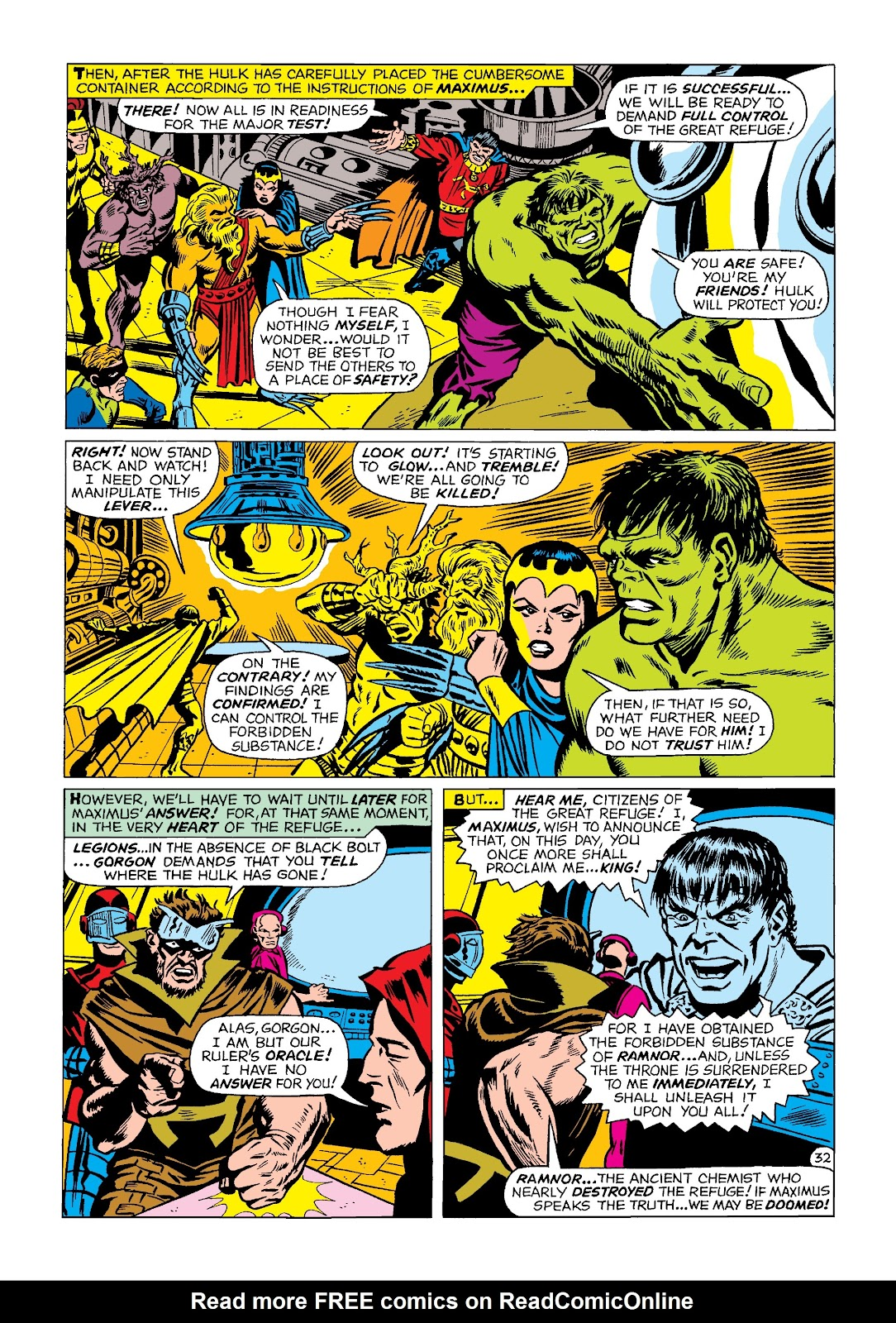 Read online Marvel Masterworks: The Incredible Hulk comic -  Issue # TPB 4 (Part 2) - 65
