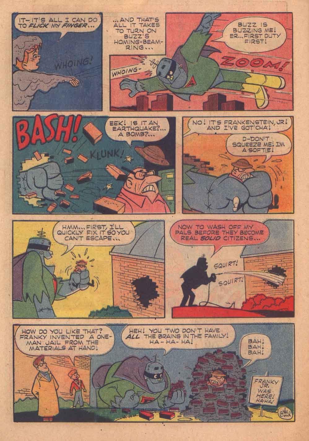 Read online Frankenstein, Jr. comic -  Issue # Full - 30