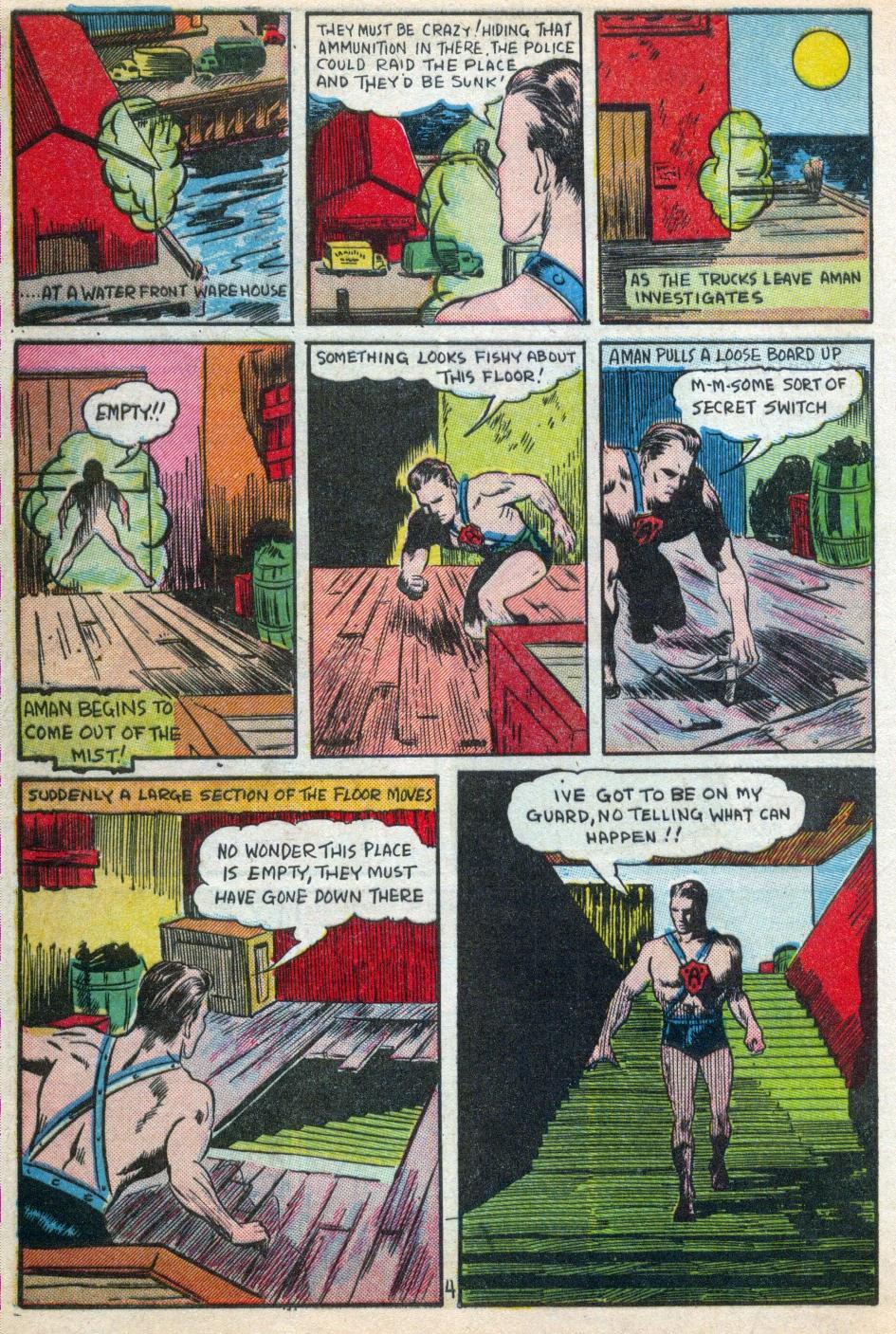 Read online Amazing Man Comics comic -  Issue #15 - 5