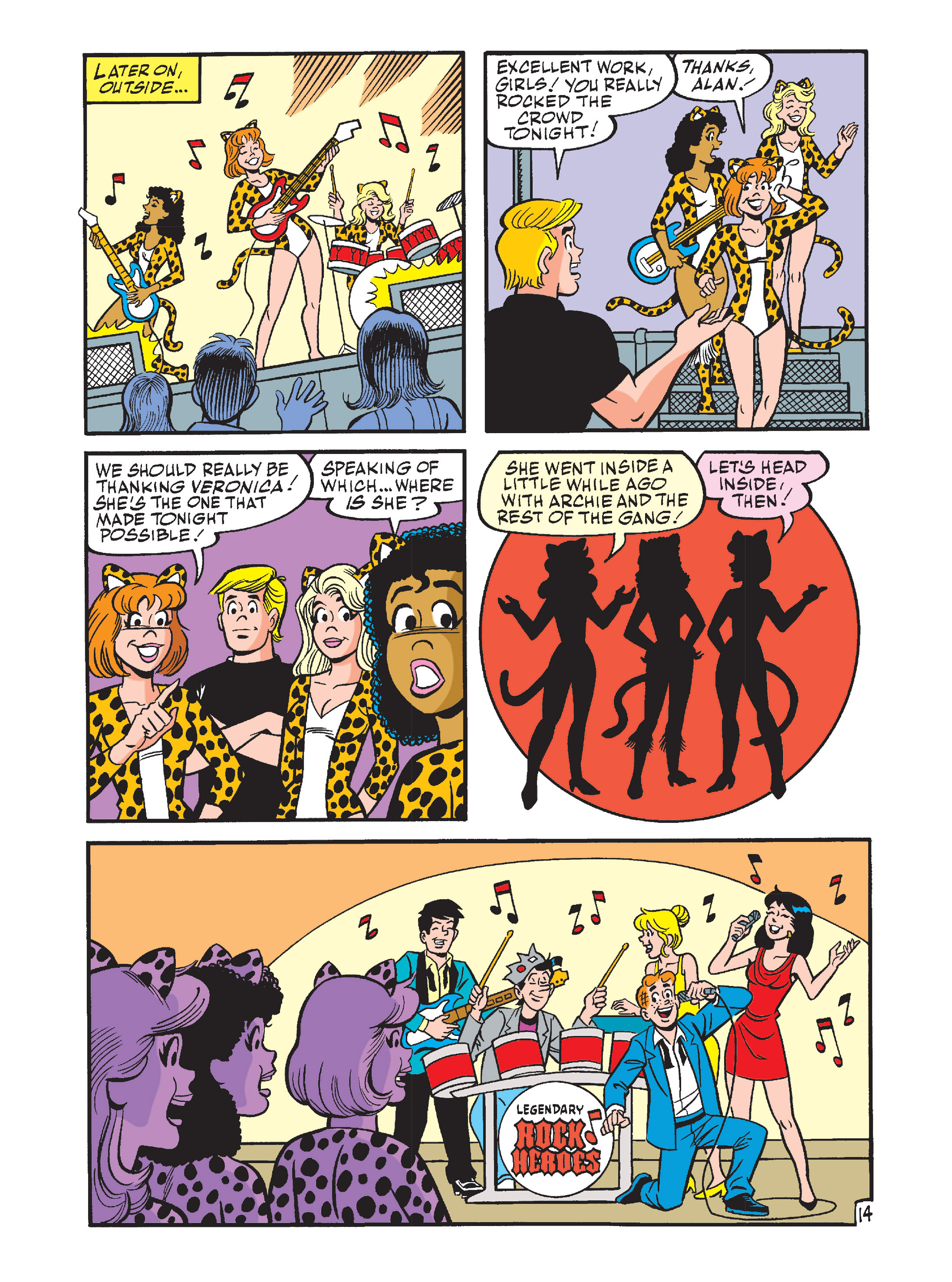 Read online Archie's Funhouse Double Digest comic -  Issue #12 - 49
