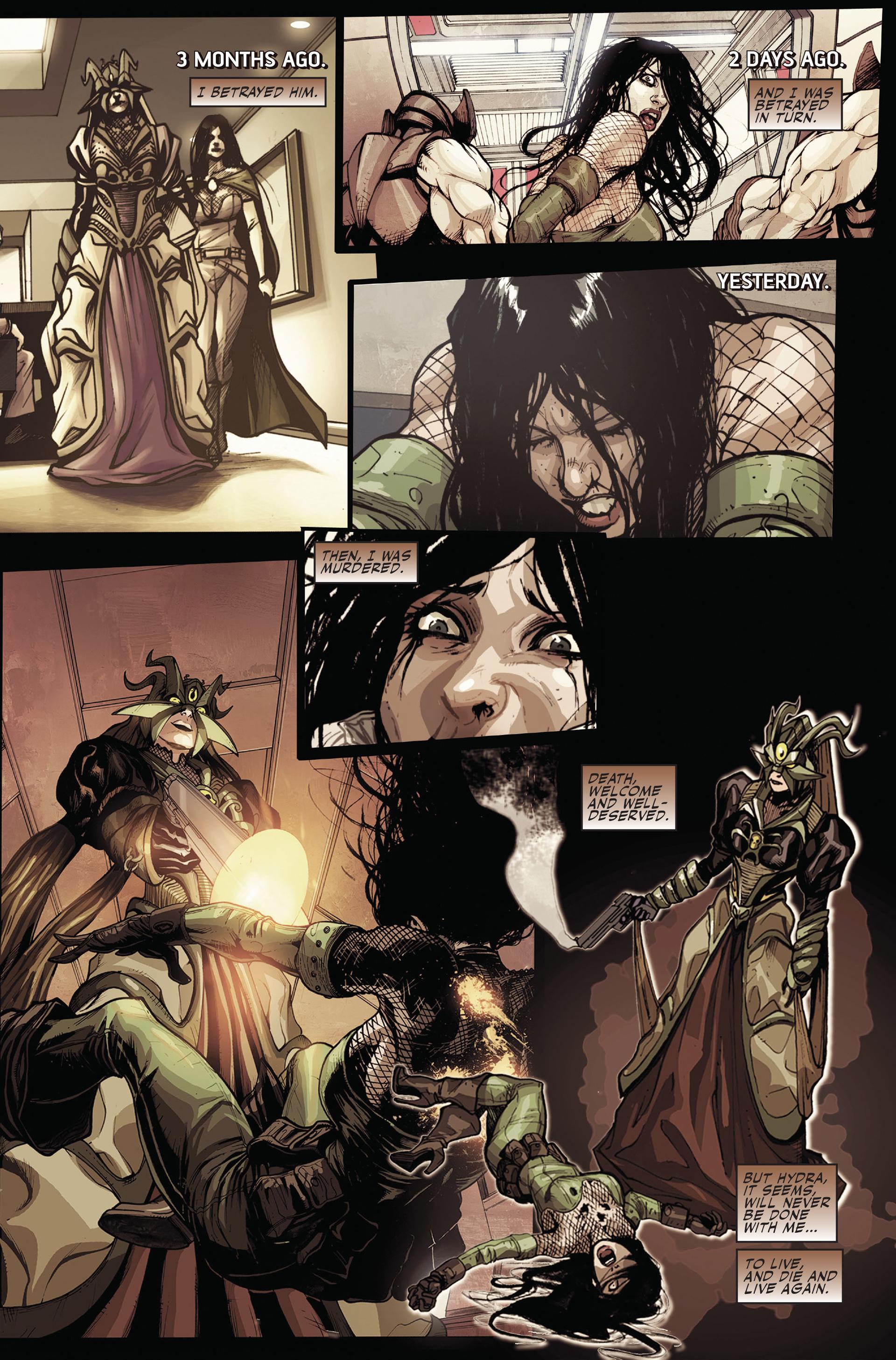 Read online Secret Warriors comic -  Issue #15 - 13