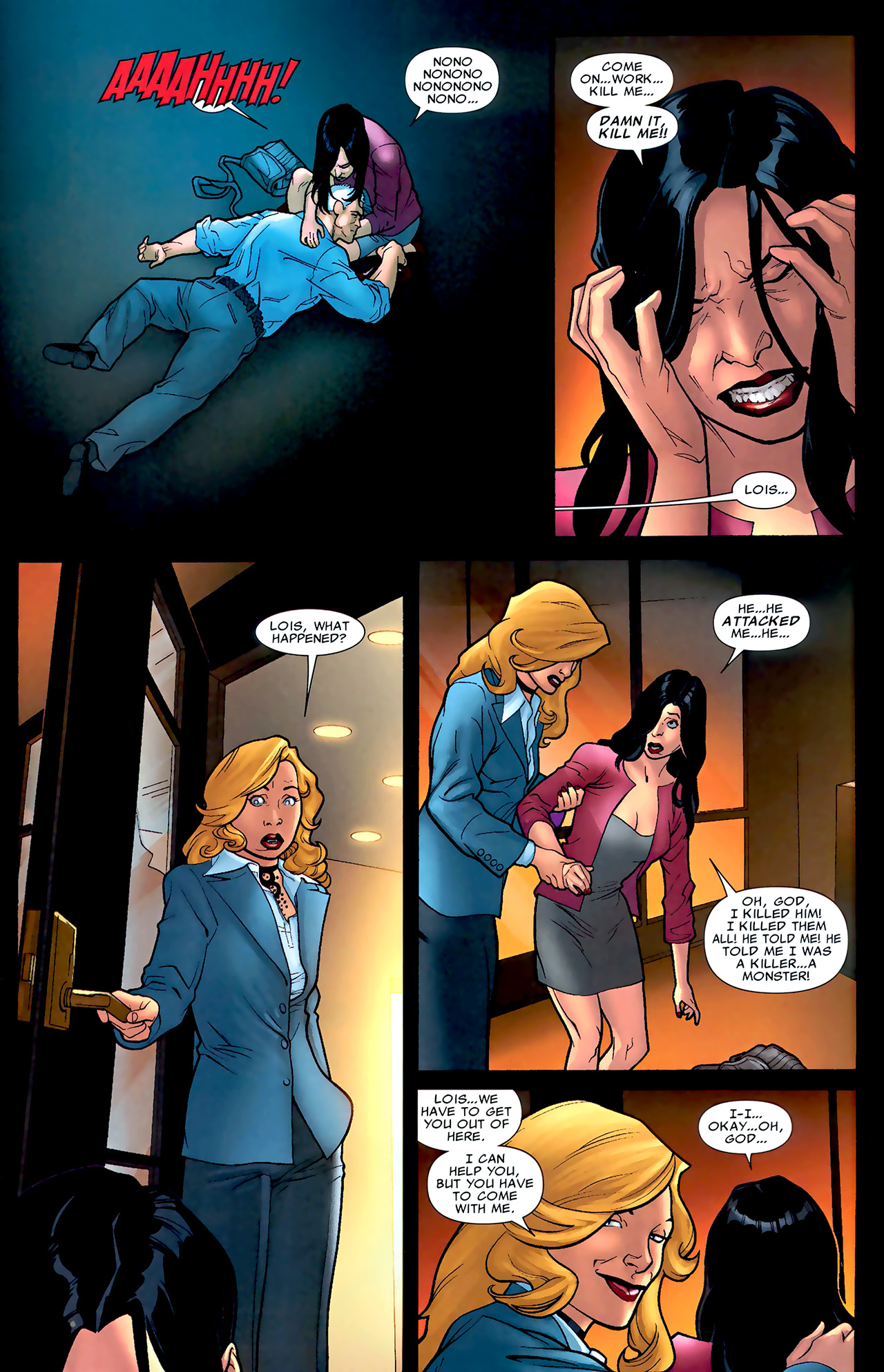 Read online X Necrosha: The Gathering comic -  Issue # Full - 32