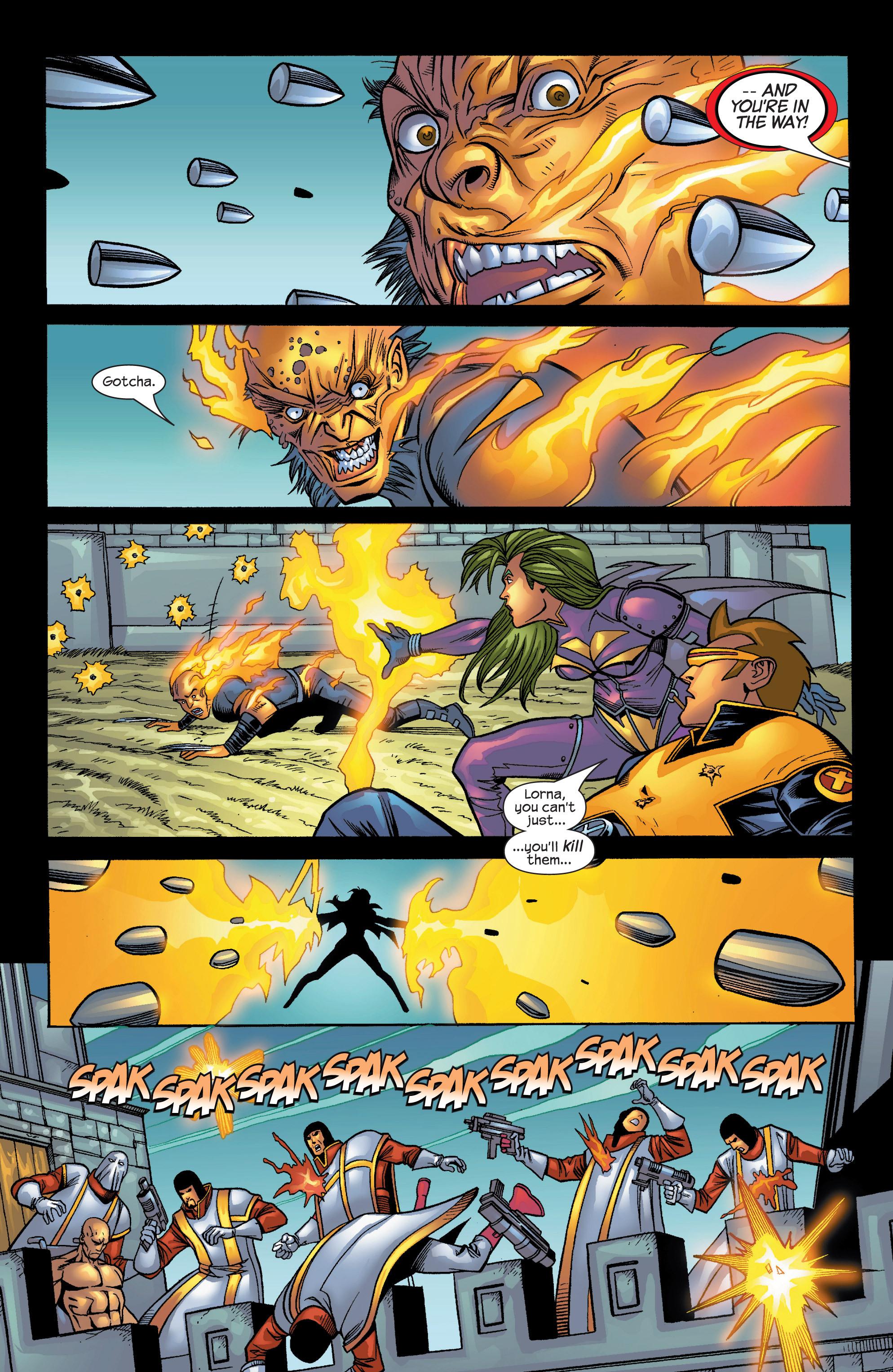Read online Uncanny X-Men (1963) comic -  Issue #424 - 16