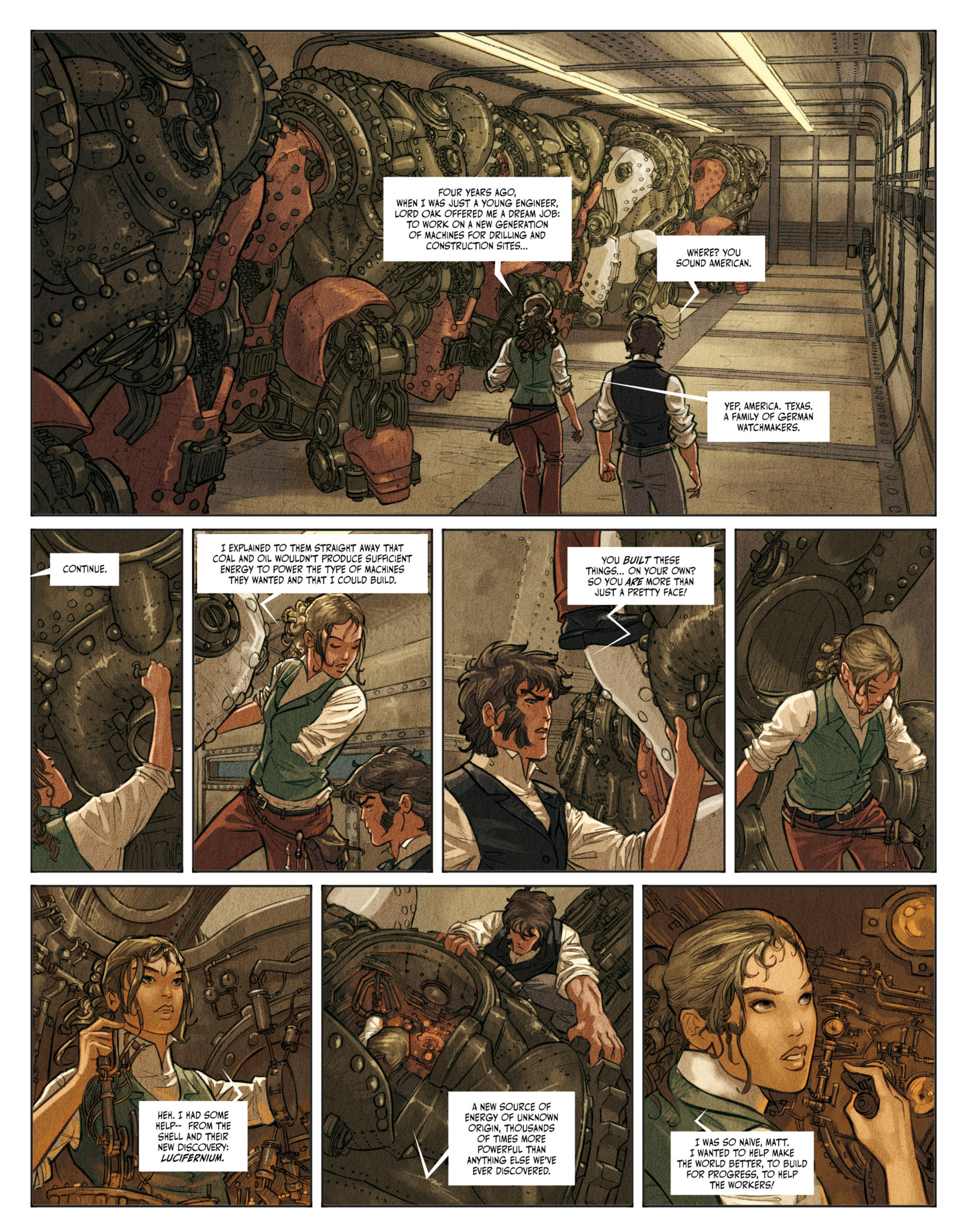 Read online Clockwerx comic -  Issue #2 - 12