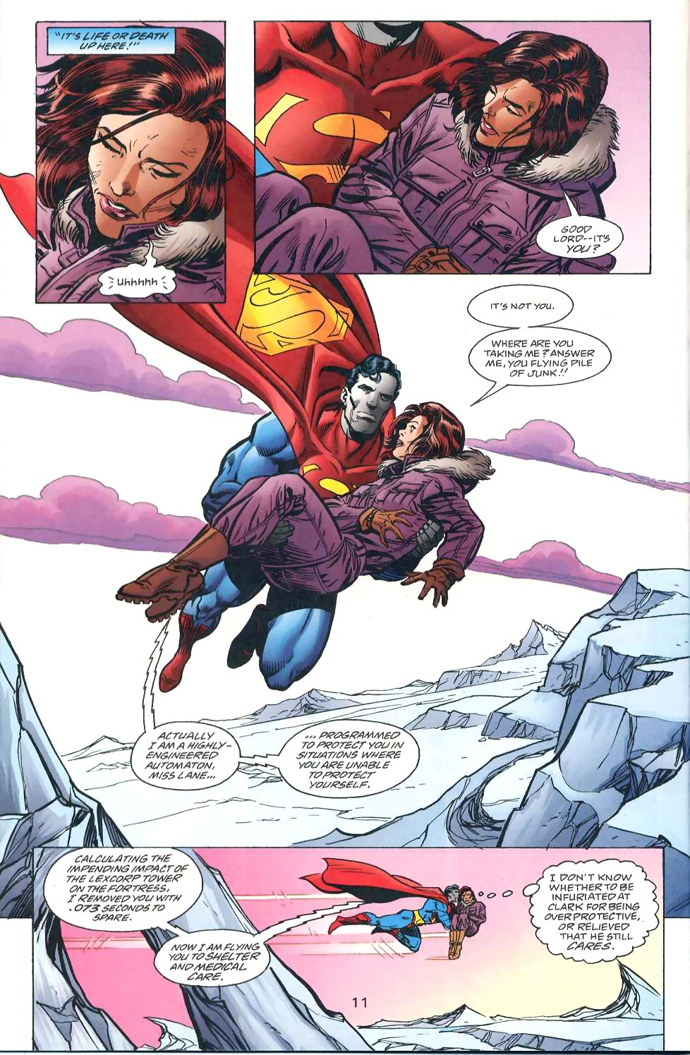 Read online Adventures of Superman (1987) comic -  Issue #567 - 13