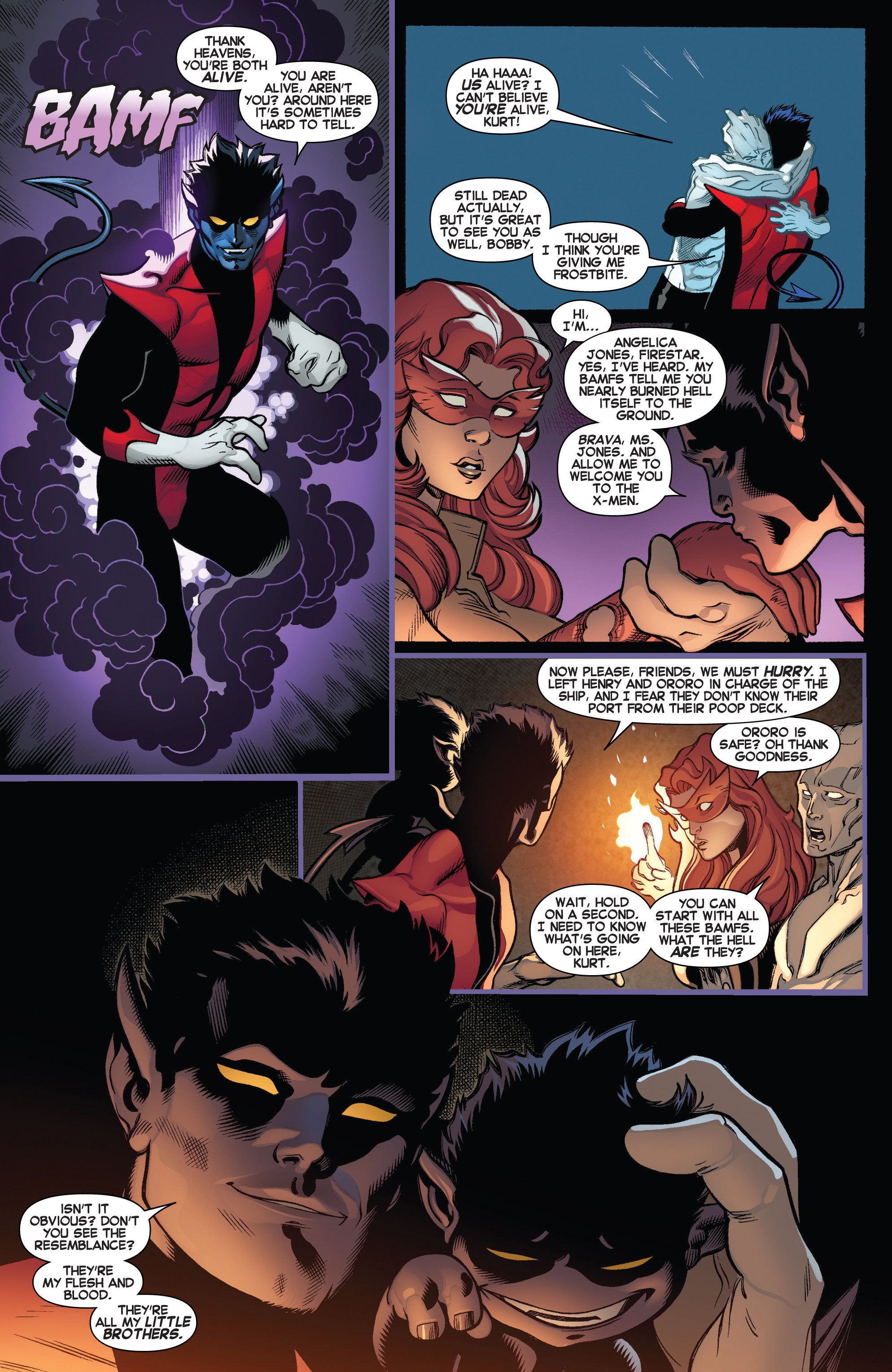 Read online Amazing X-Men (2014) comic -  Issue #4 - 14