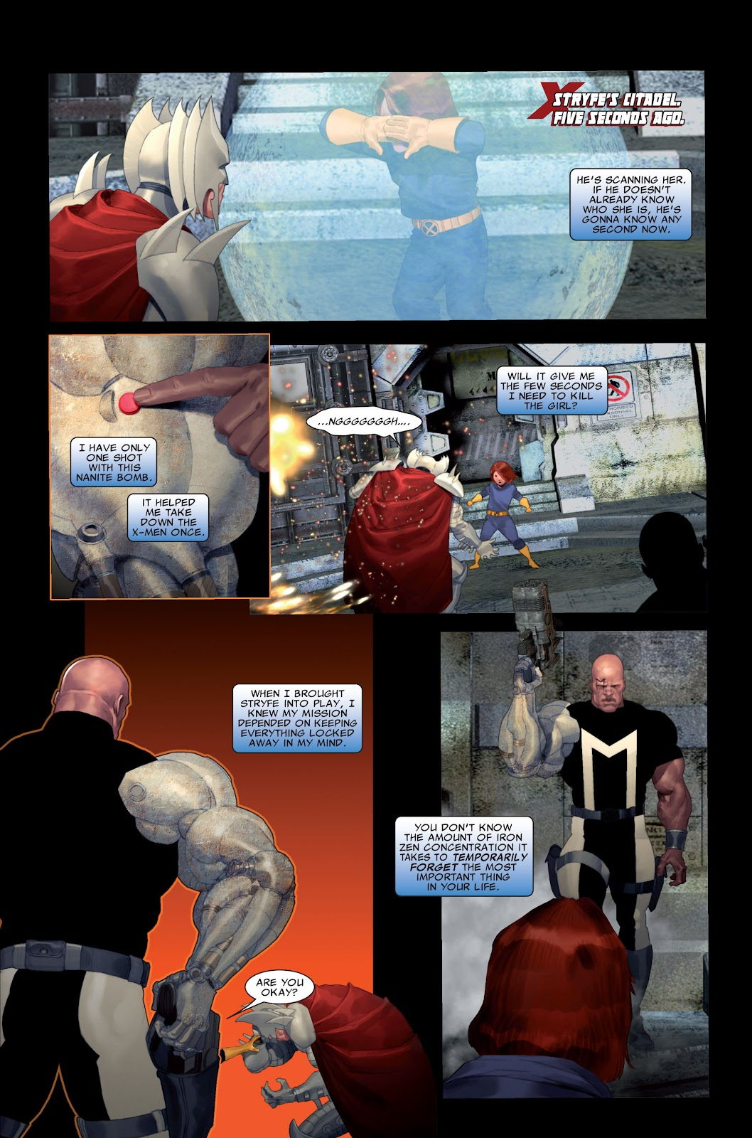 Read online X-Force/Cable: Messiah War comic -  Issue # _TPB (Part 2) - 54