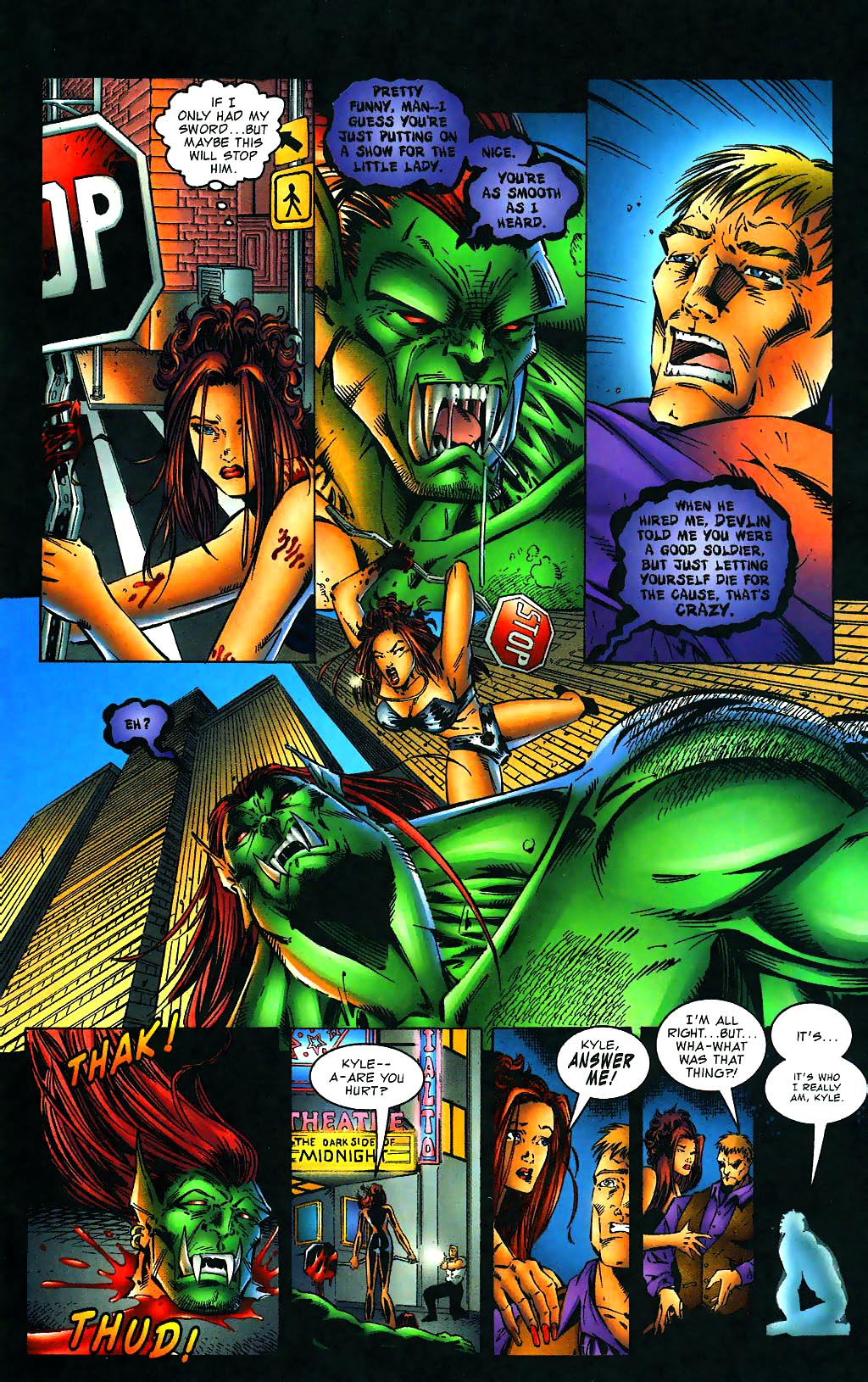Read online Avengelyne (1996) comic -  Issue #1 - 26