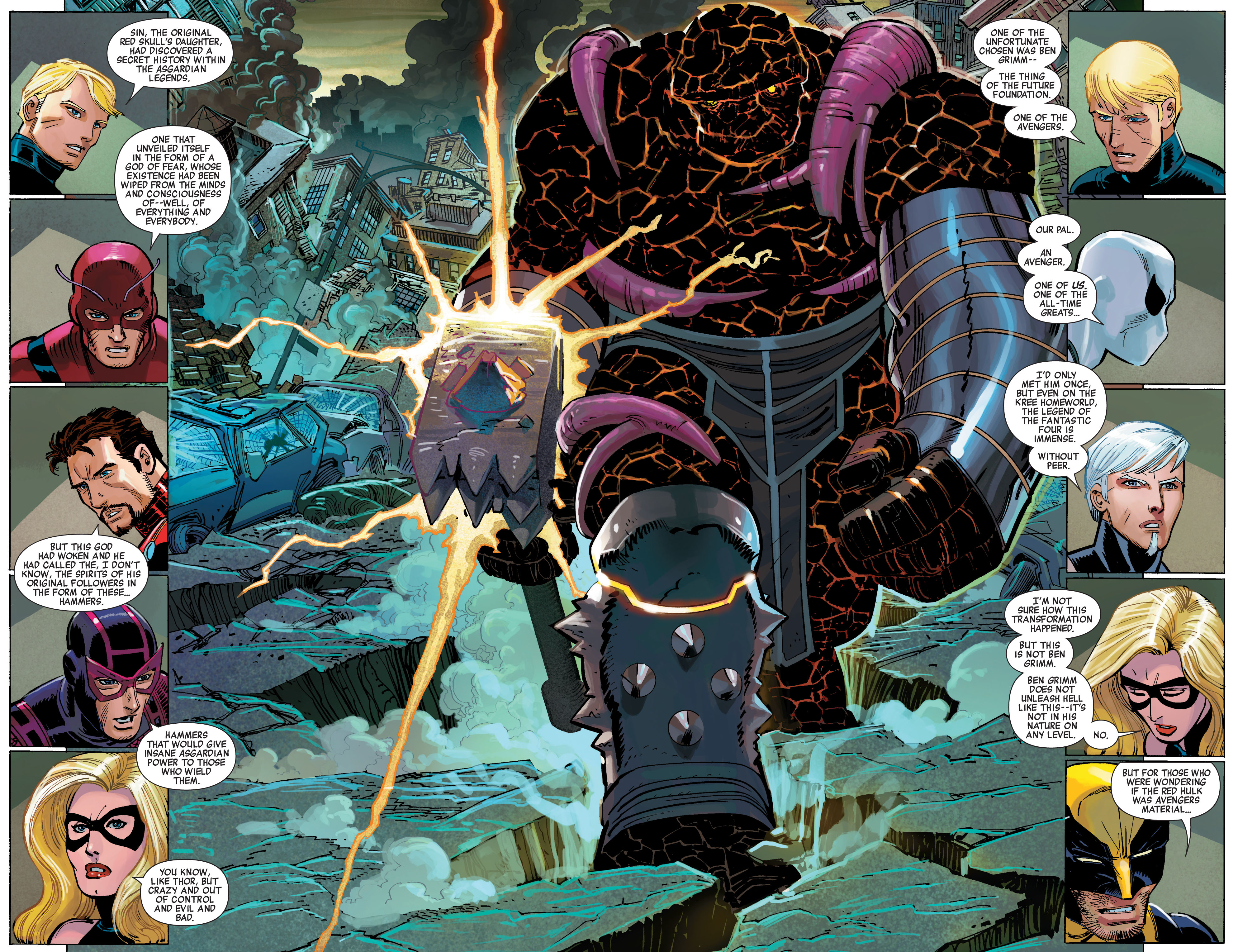 Read online Avengers (2010) comic -  Issue #14 - 6