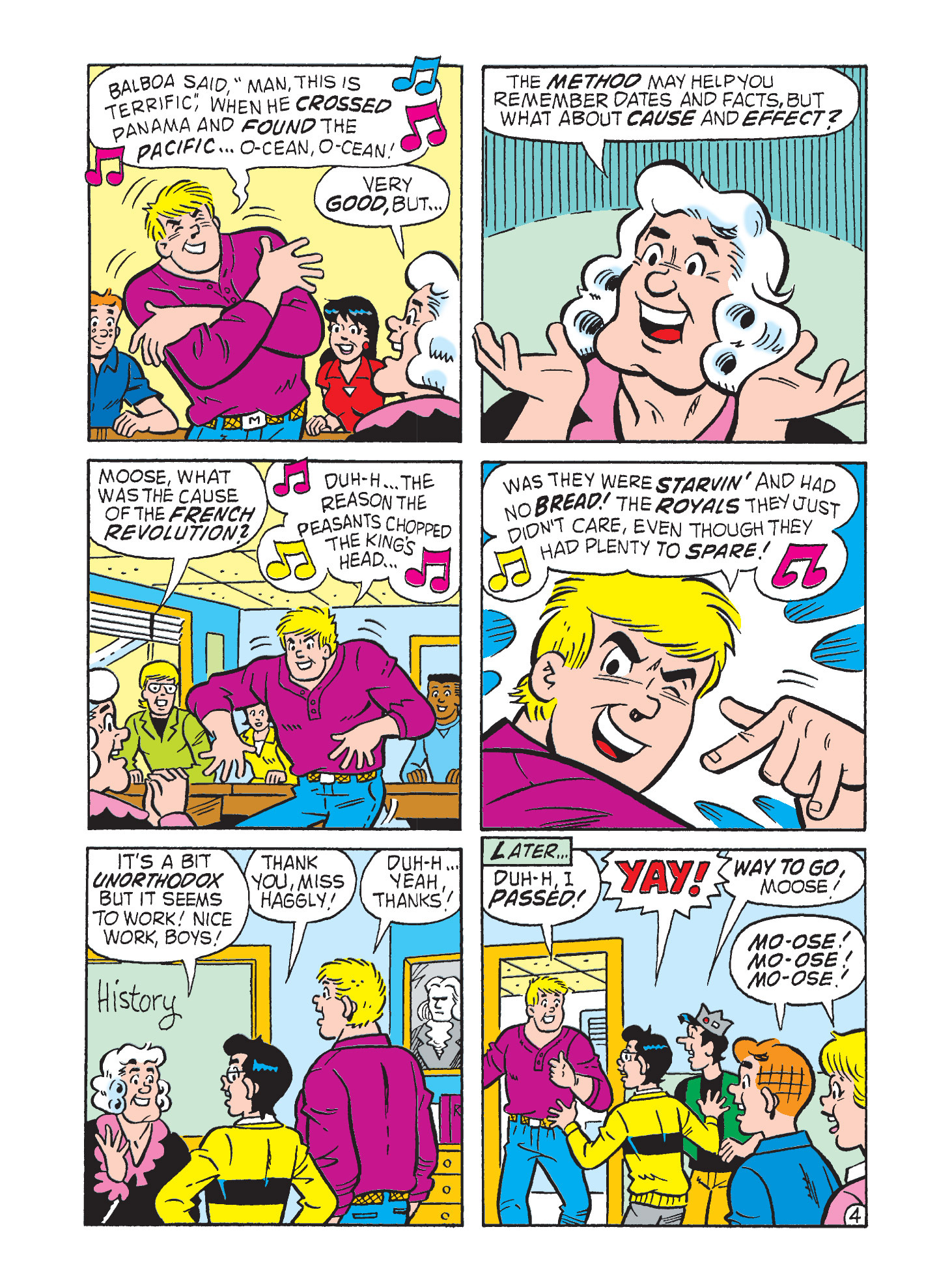 Read online Archie's Funhouse Double Digest comic -  Issue #9 - 120