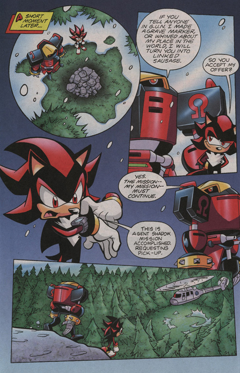 Read online Sonic Universe comic -  Issue #3 - 21