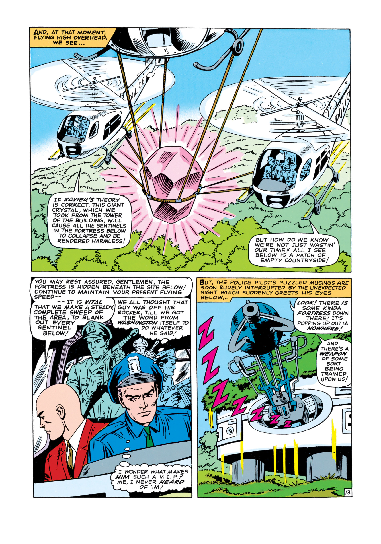 Read online Uncanny X-Men (1963) comic -  Issue #16 - 14
