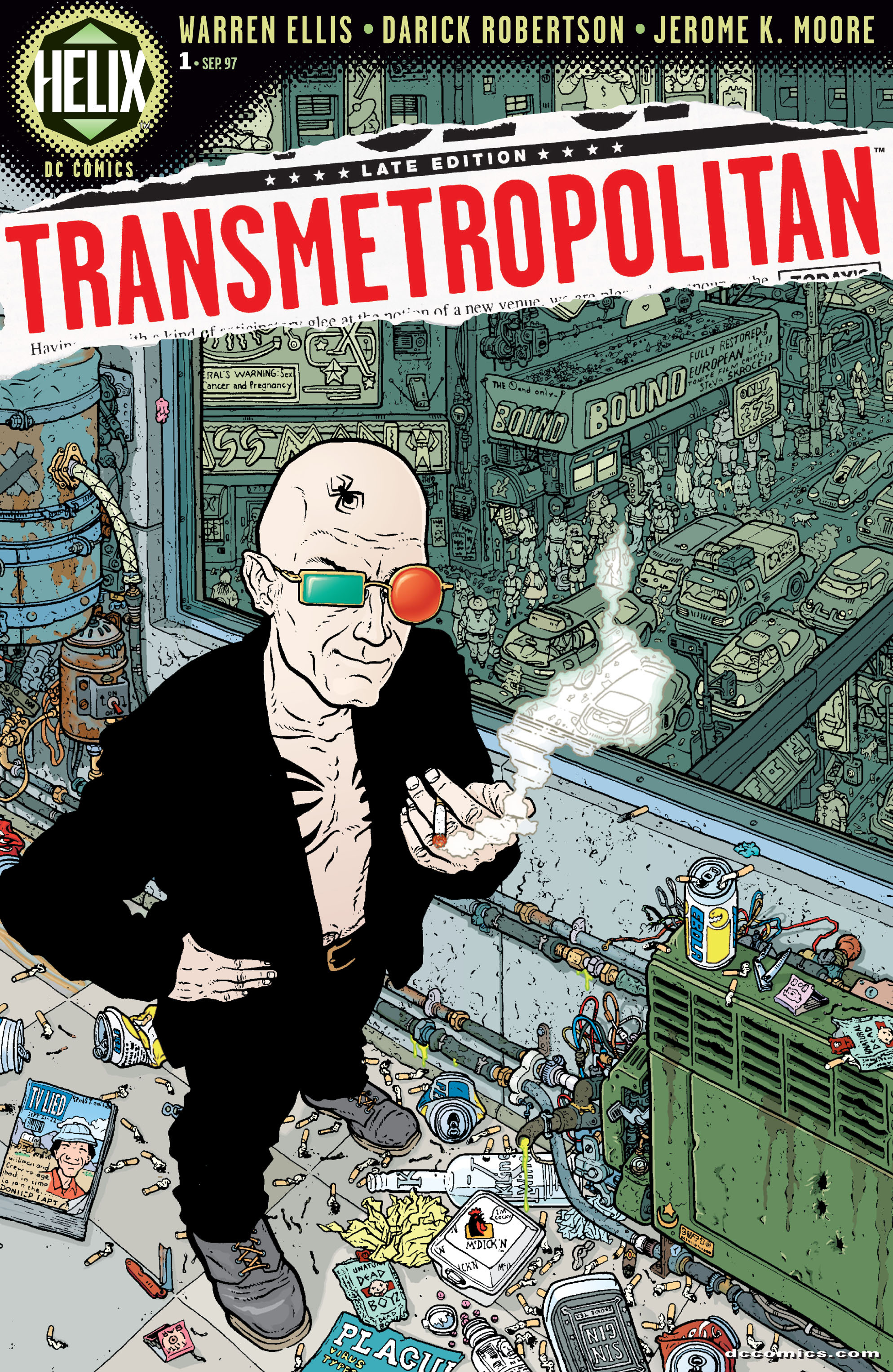 Read online Transmetropolitan comic -  Issue #1 - 1