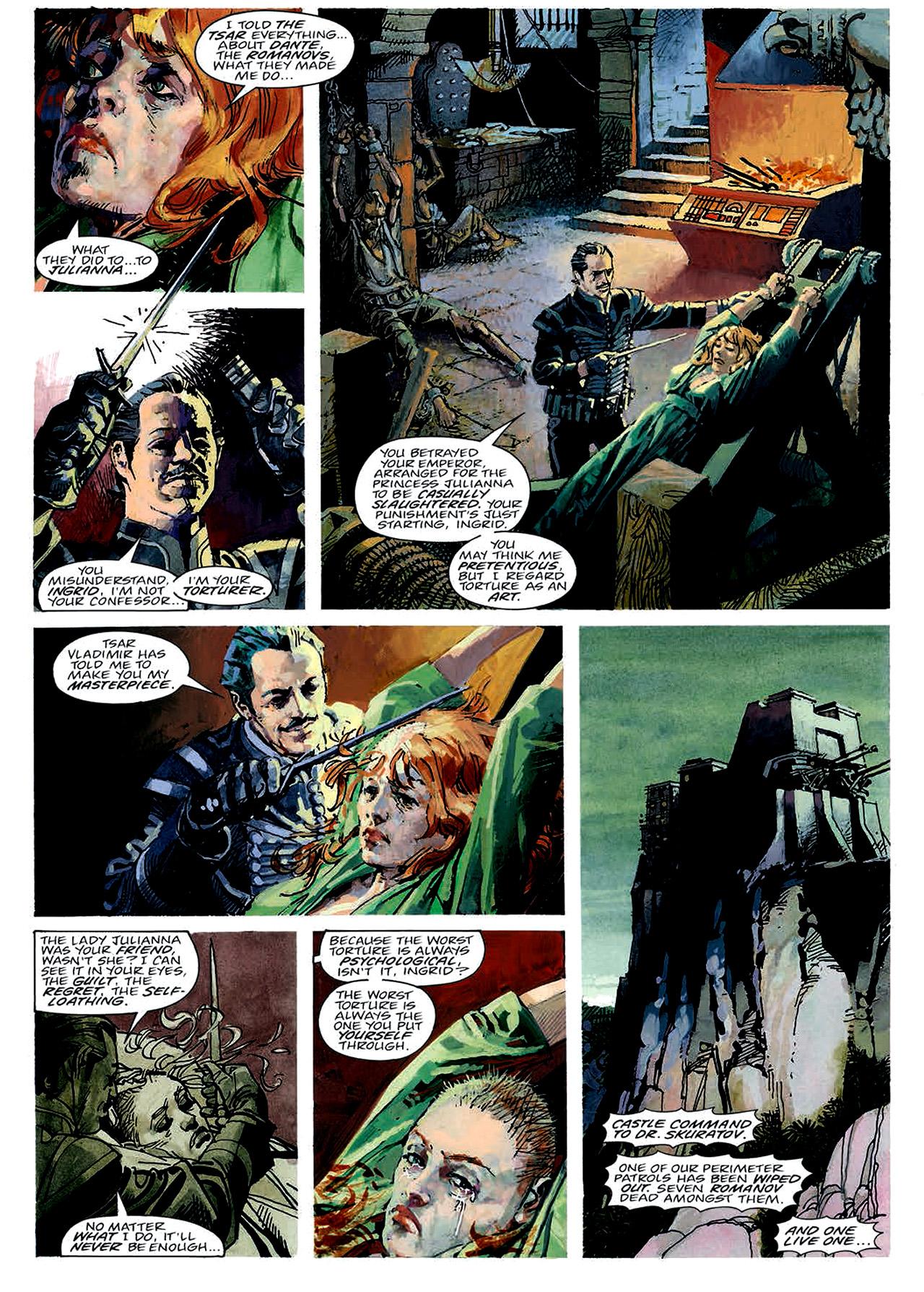 Read online Nikolai Dante comic -  Issue # TPB 4 - 30
