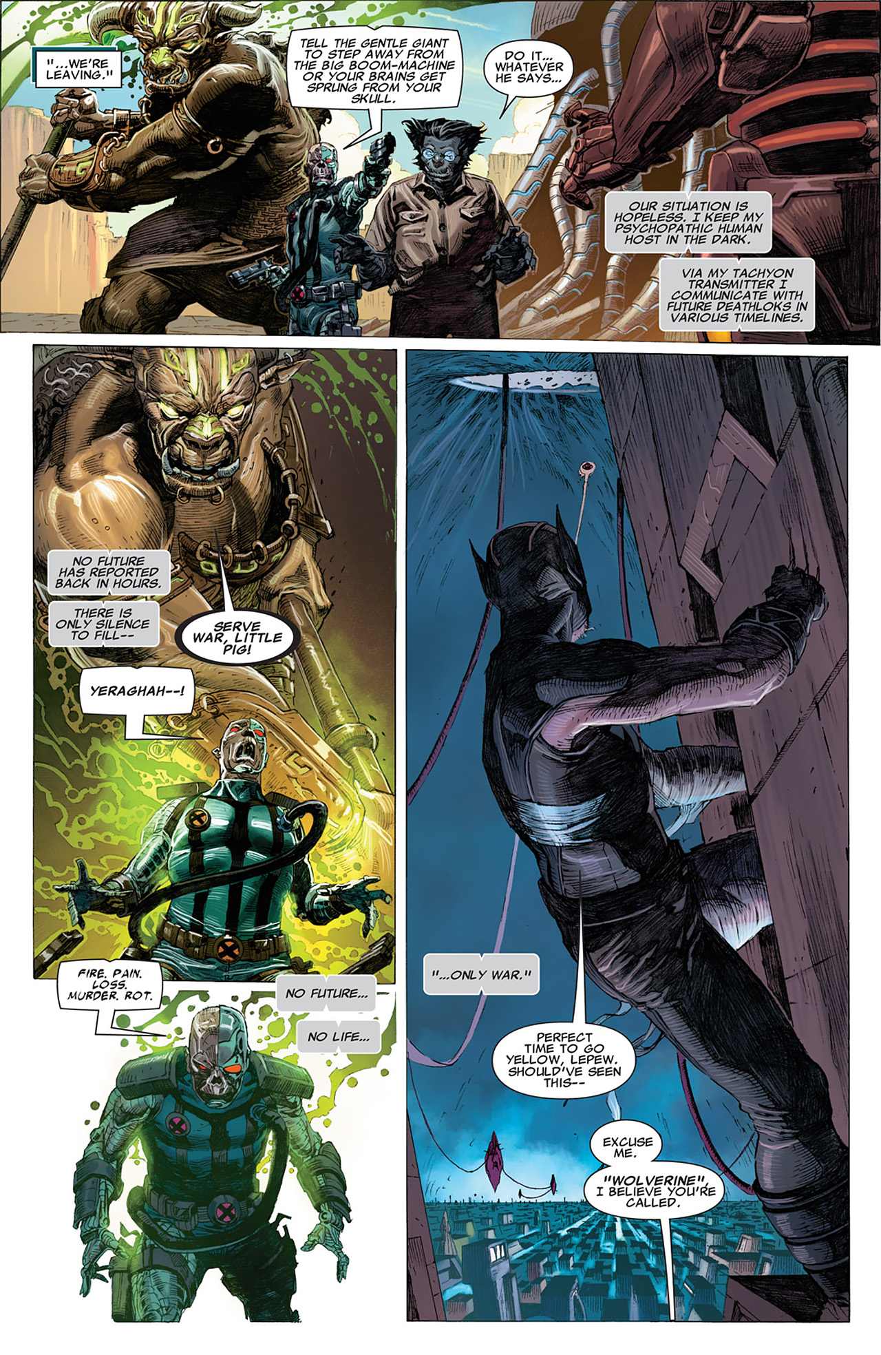 Read online Uncanny X-Force (2010) comic -  Issue #16 - 20