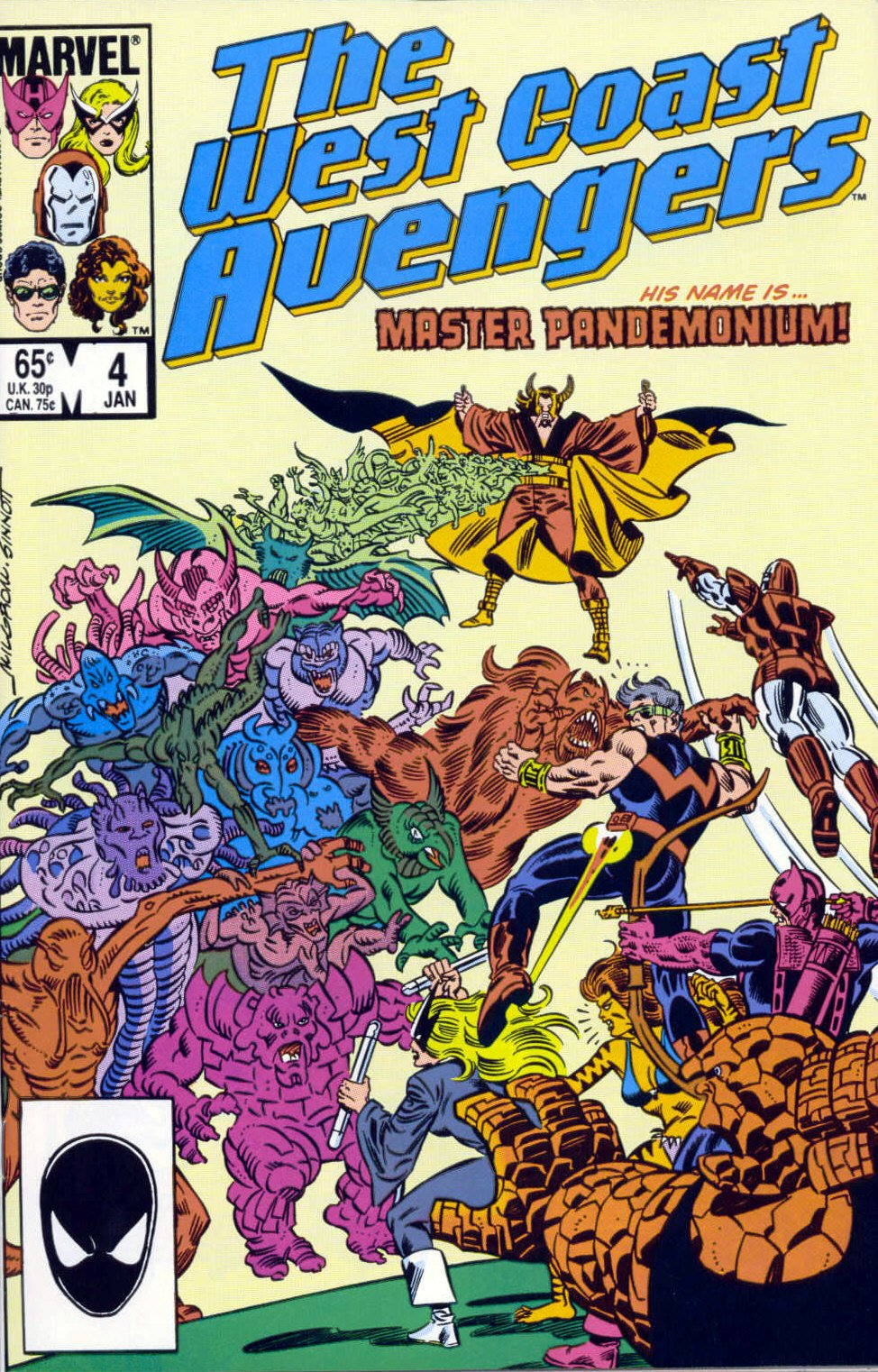 West Coast Avengers (1985) 4 Page 1