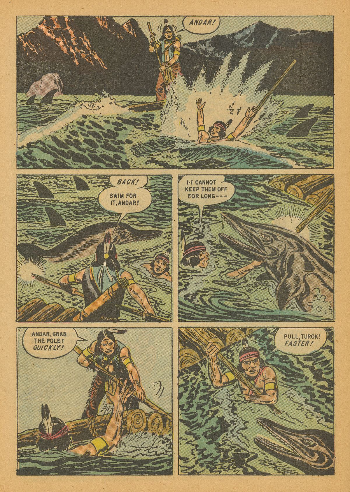 Read online Turok, Son of Stone comic -  Issue #14 - 28