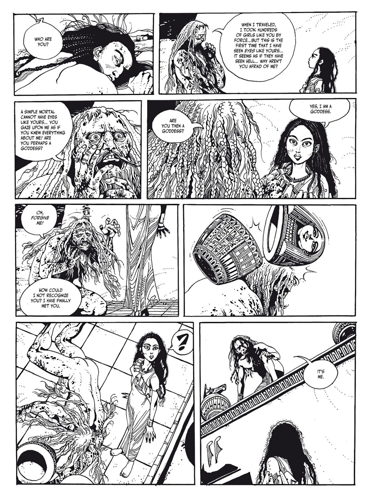 Read online The Egyptian Princesses comic -  Issue # TPB 1 (Part 1) - 99