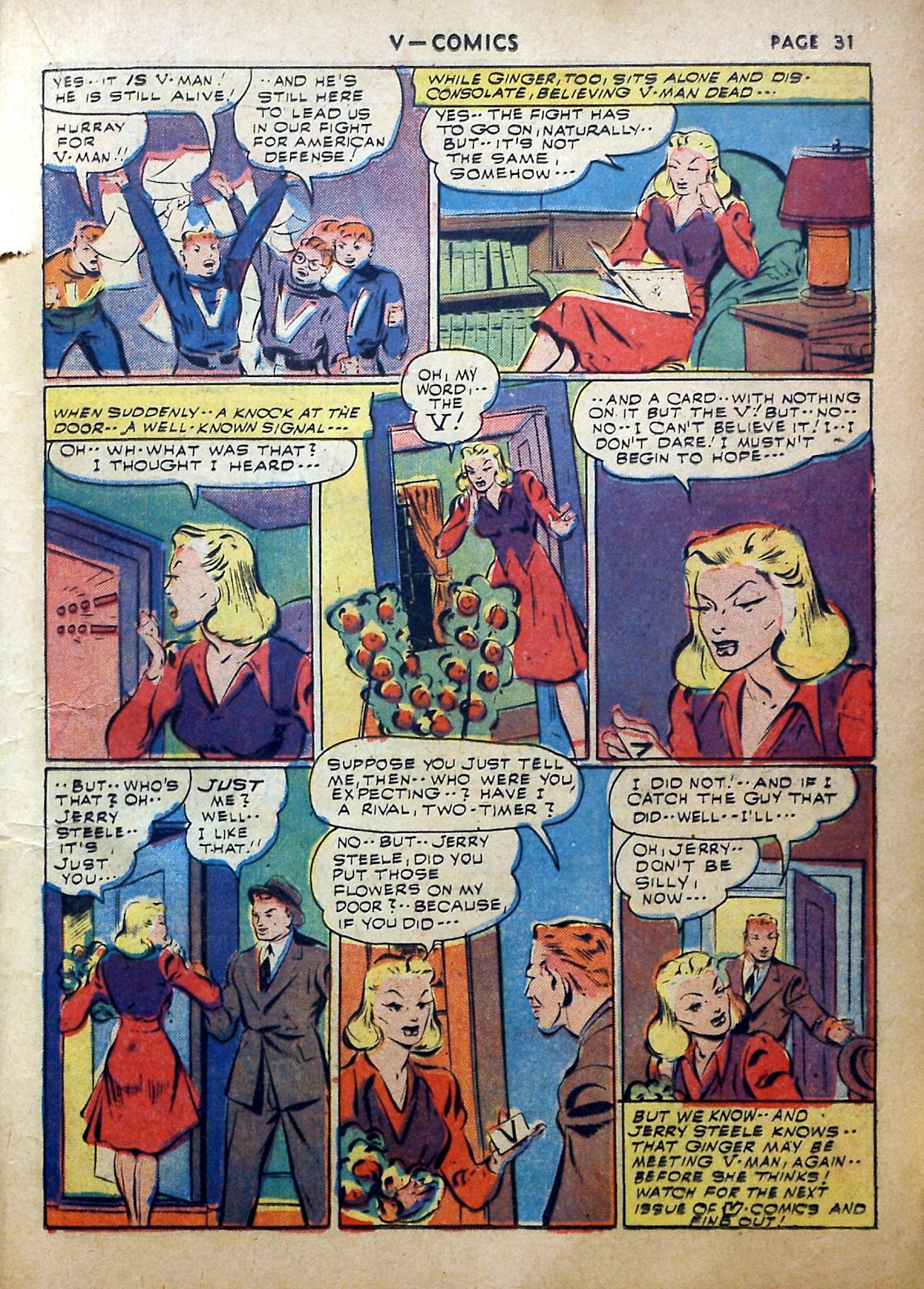Read online V...- Comics comic -  Issue #2 - 32
