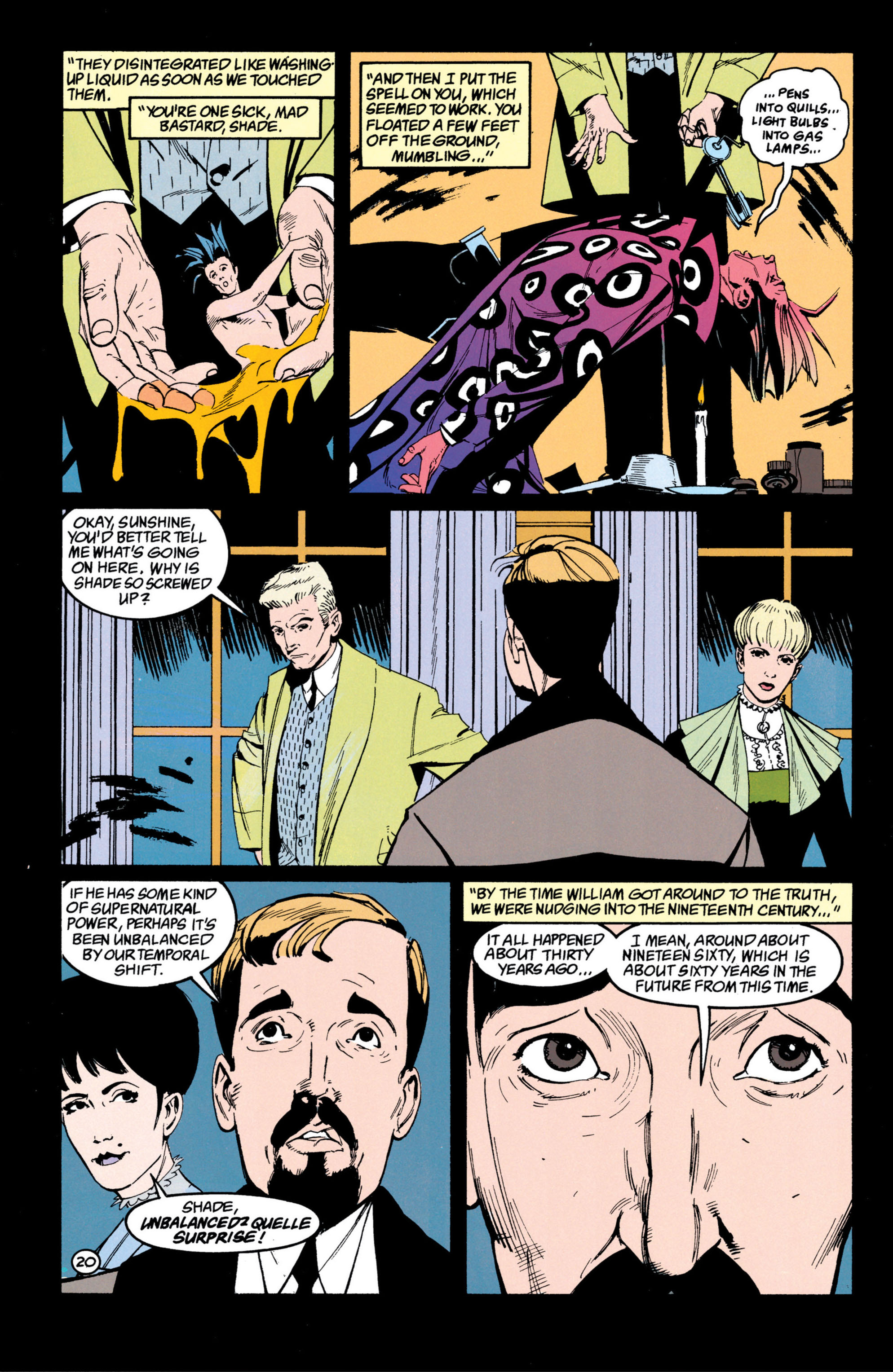 Read online Shade, the Changing Man comic -  Issue #42 - 21