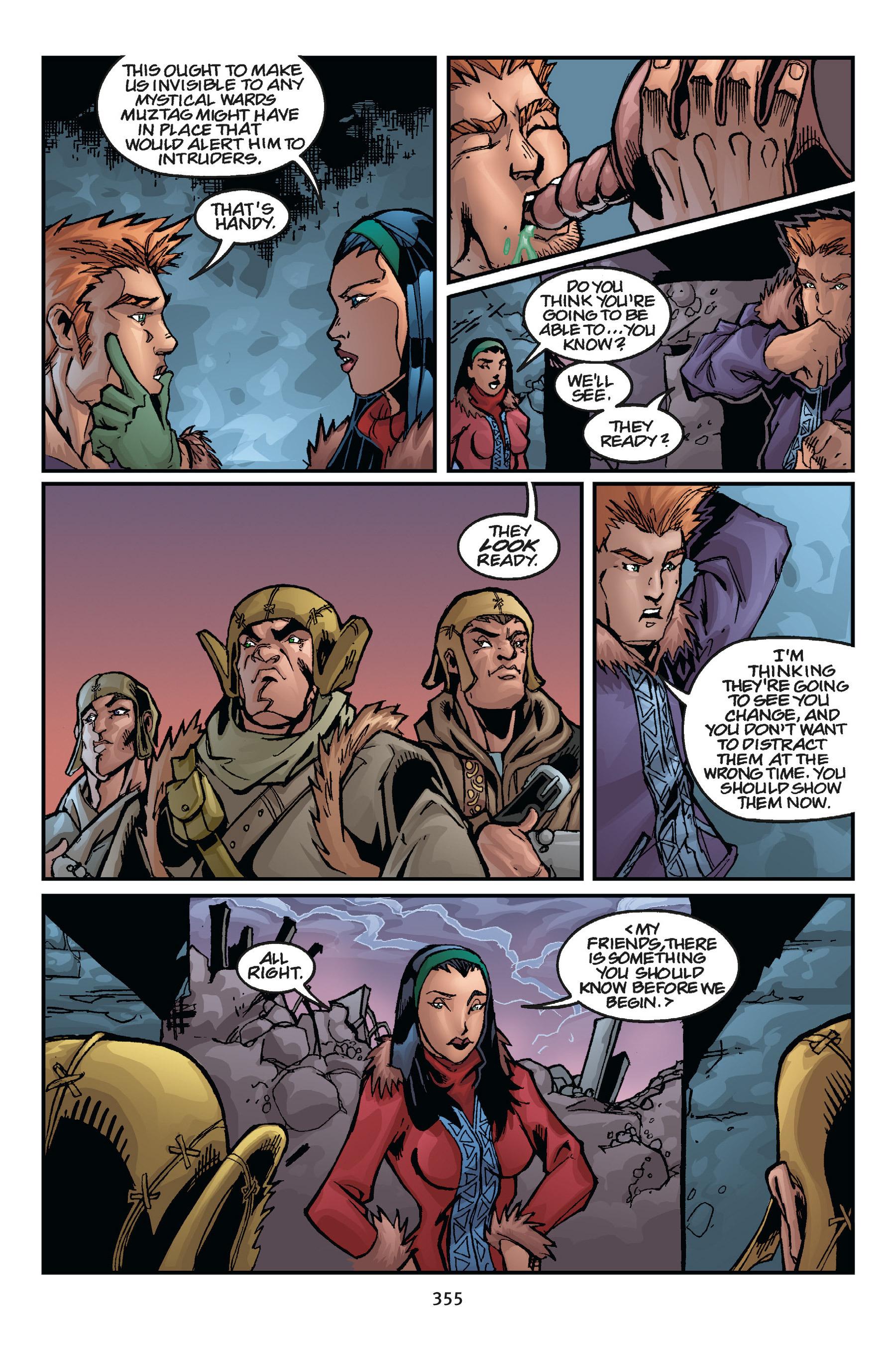 Read online Buffy the Vampire Slayer: Omnibus comic -  Issue # TPB 5 - 353