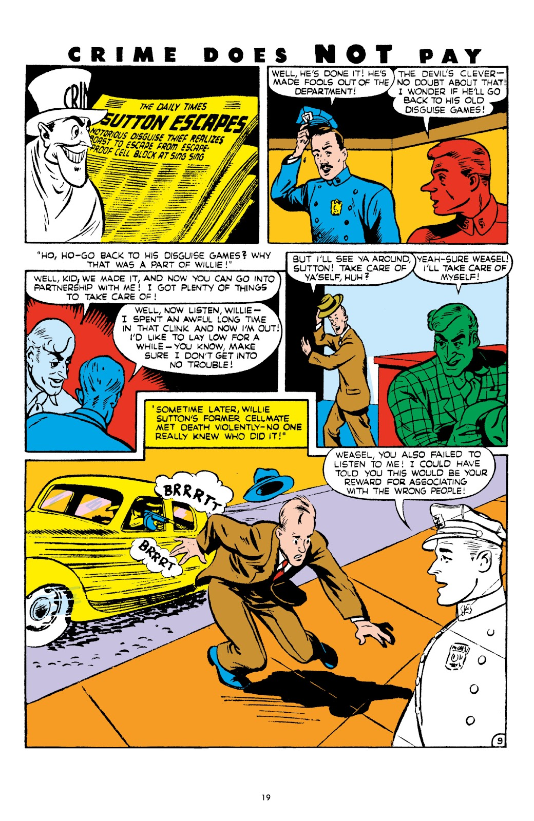 Read online Crime Does Not Pay Archives comic -  Issue # TPB 6 (Part 1) - 21