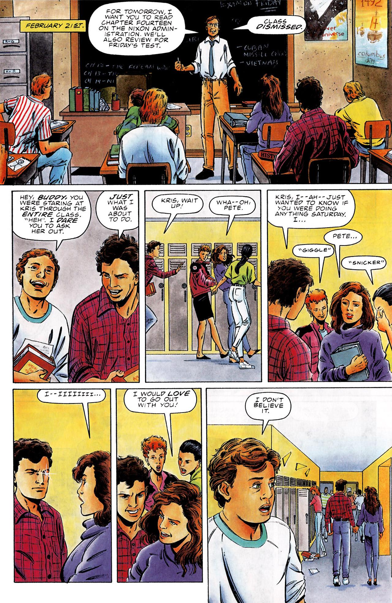 Read online Harbinger (1992) comic -  Issue #0 - 5